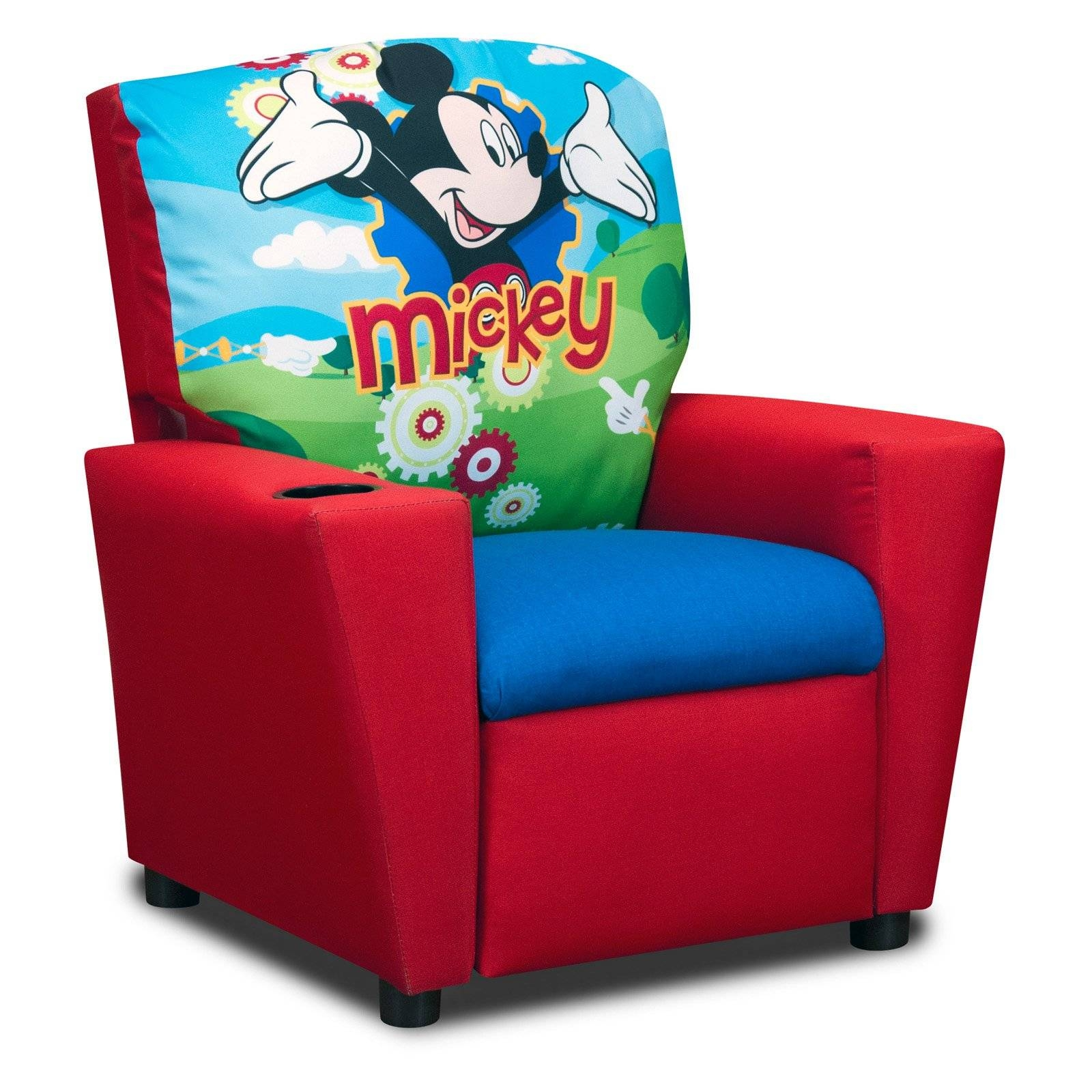 Disneys Mickey Mouse Clubhouse Recliner - Walmart for Mickey Mouse Clubhouse Couches (Image 2 of 15)