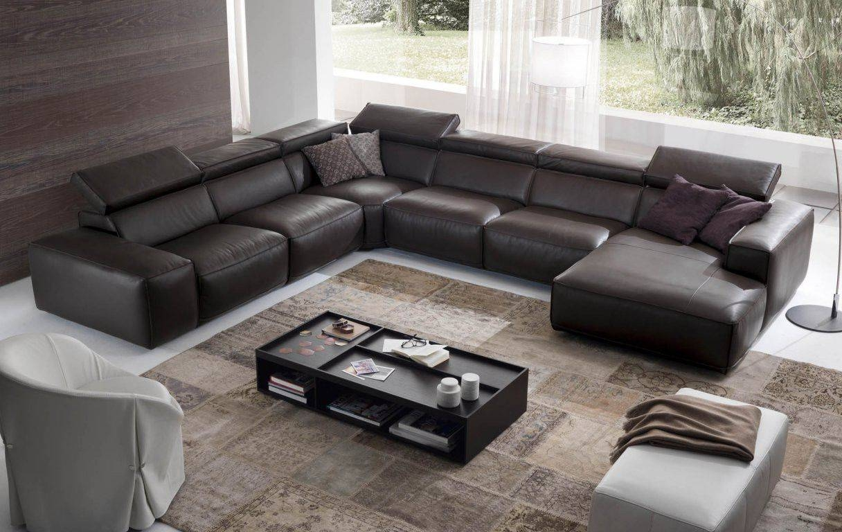 Divani Chateau D Ax Leather Sofa - Techethe in Divani Chateau D'ax Leather Sofas (Image 9 of 15)