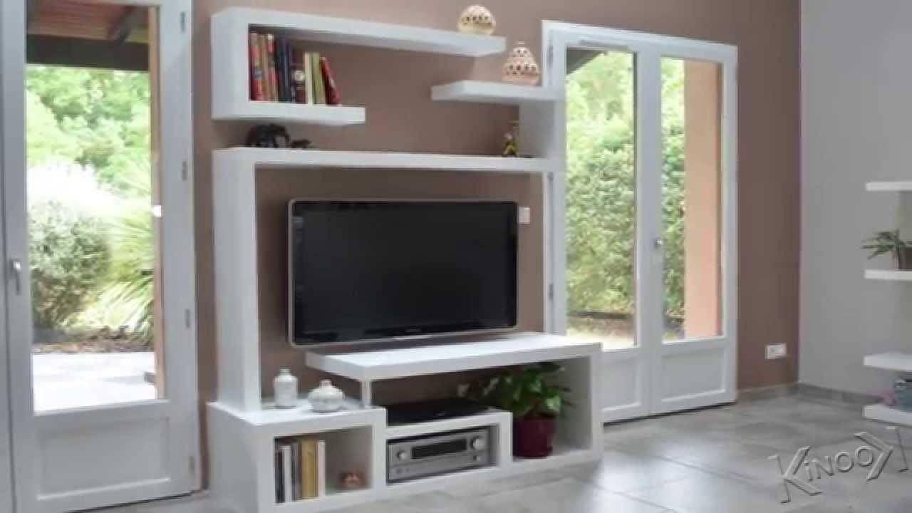 Diy A Stylishtv Stand - Youtube throughout Stylish Tv Stands (Image 3 of 15)