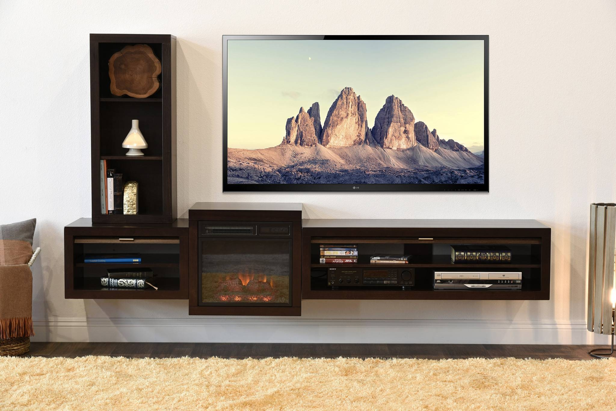 Diy Floating Tv Stand – Unac (View 7 of 15)
