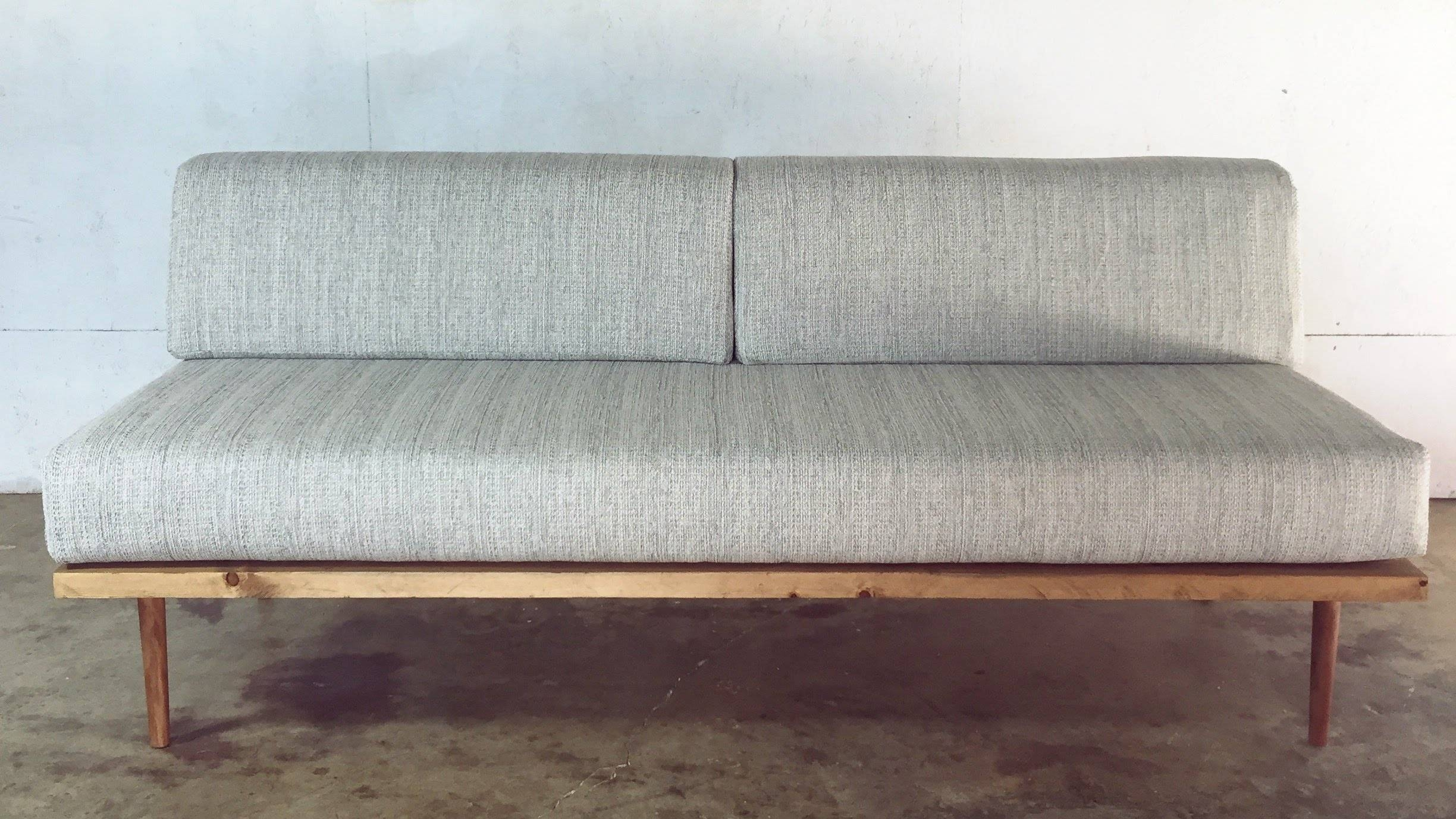 Diy Mid-Century Modern Sofa | Modern Builds | Ep. 27 - Youtube in Danish Modern Sofas (Image 7 of 15)
