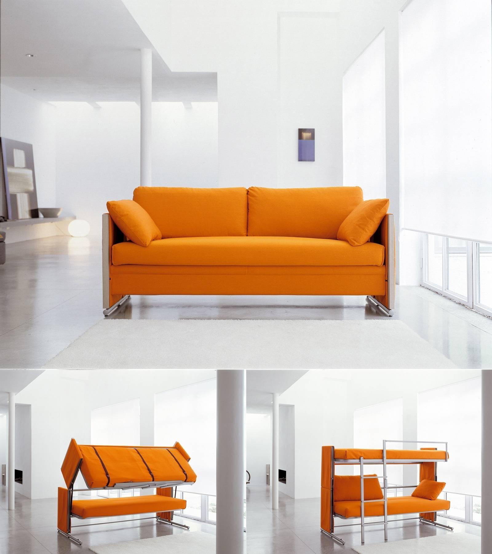 Doc Sofa Bunk Bed | Centerfieldbar regarding Sofas Converts to Bunk Bed (Image 5 of 15)