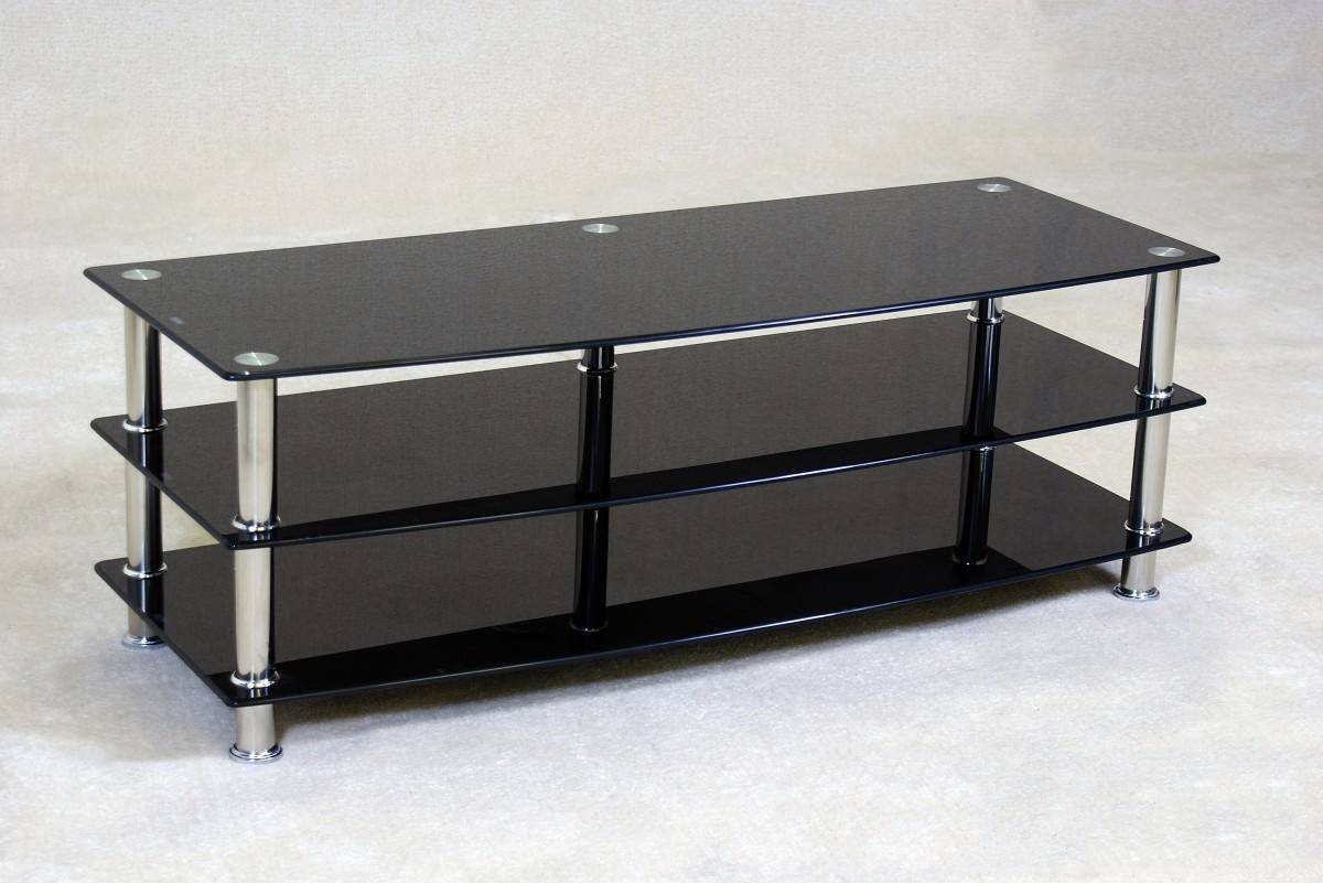 Dockland Prestige Residential » Plasmic Large Black Tv Stand With Large Black Tv Unit (View 11 of 15)
