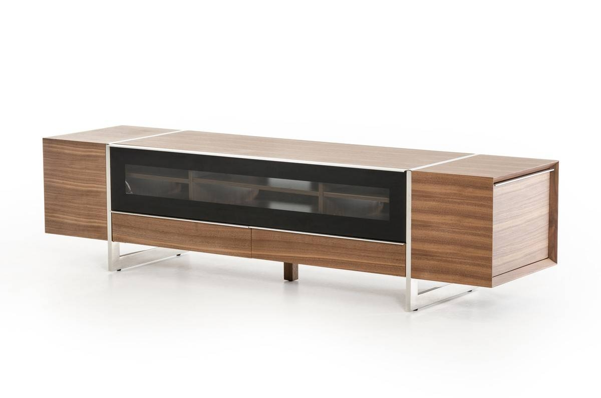 Domus Lorena Modern Walnut Tv Stand For Walnut Tv Stands (View 8 of 15)