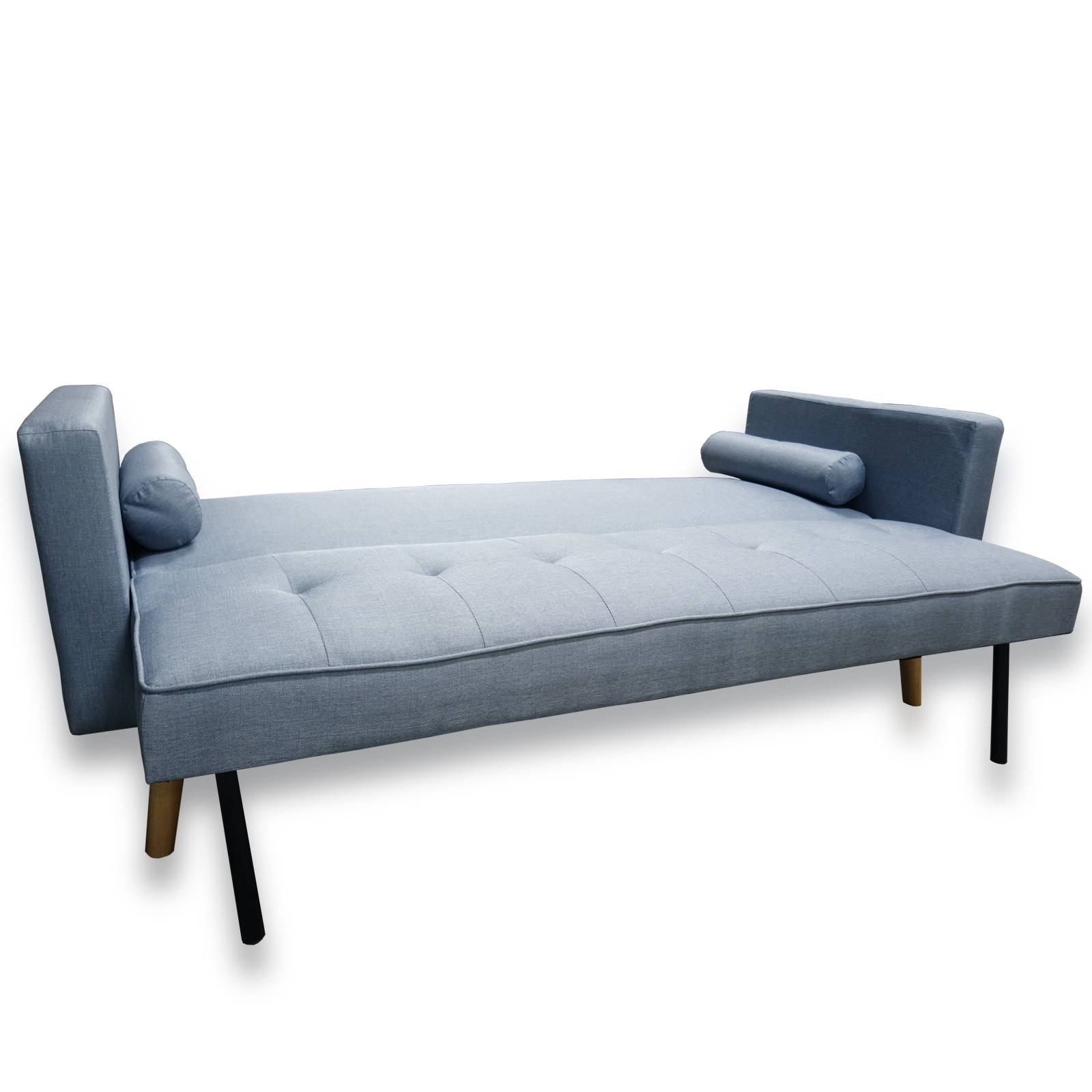 Double Clic Clac Sofa Bed | Centerfieldbar in Clic Clac Sofa Beds (Image 6 of 15)