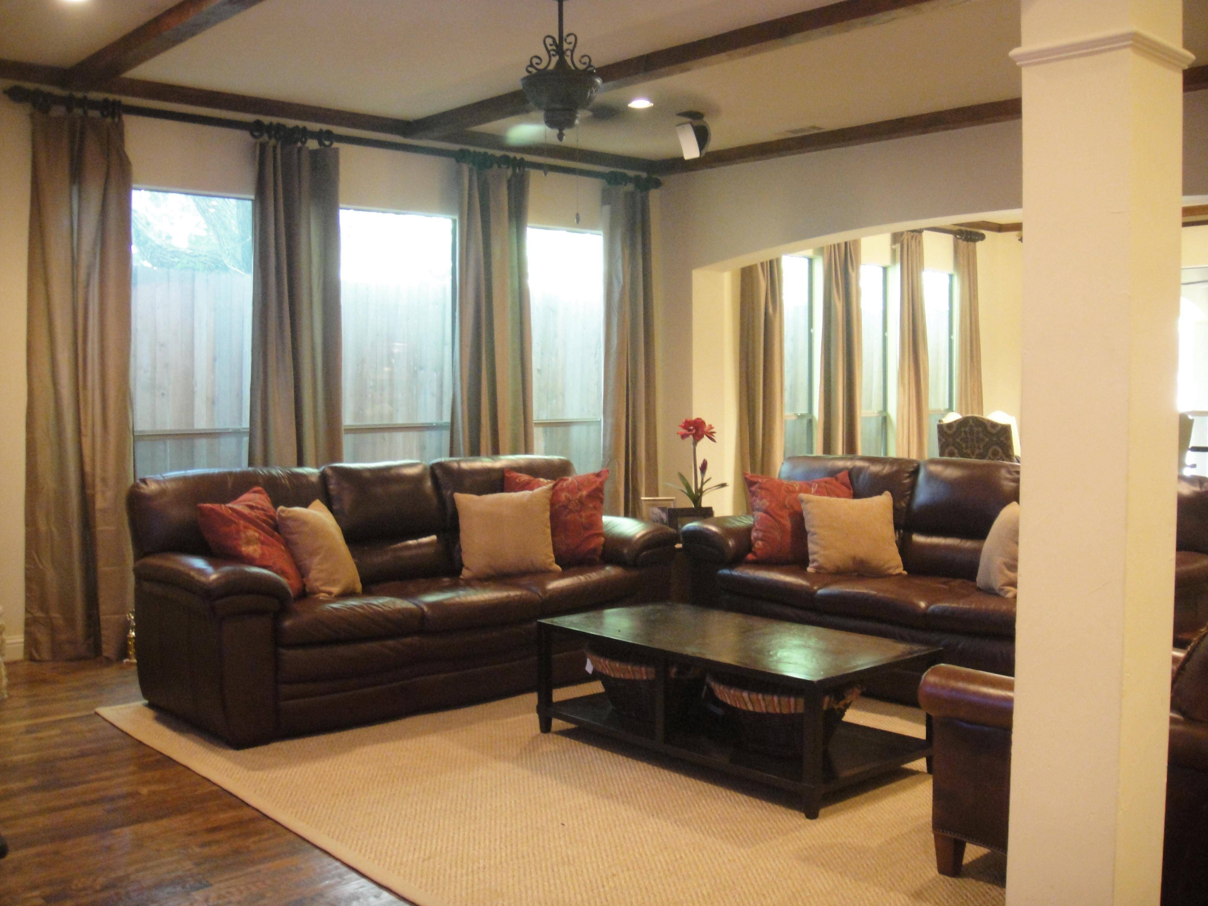 Download Living Room Ideas Brown Sofa | Gen4Congress inside Brown Sofas Decorating (Image 9 of 15)