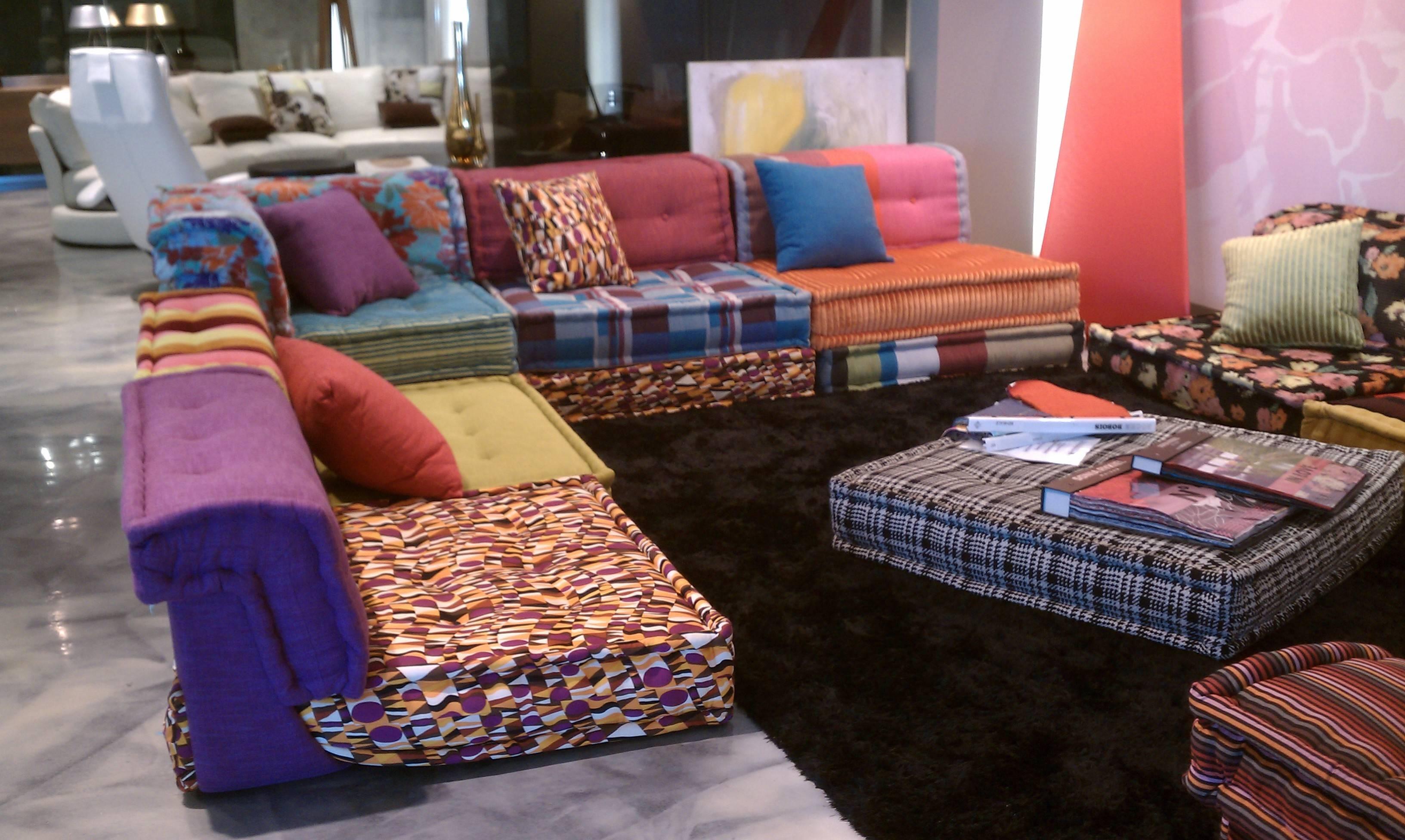 Dream Couch: Missoni Bohemian Sofa | The Cherie Bomb Intended For Roche  Bobois Mah Jong