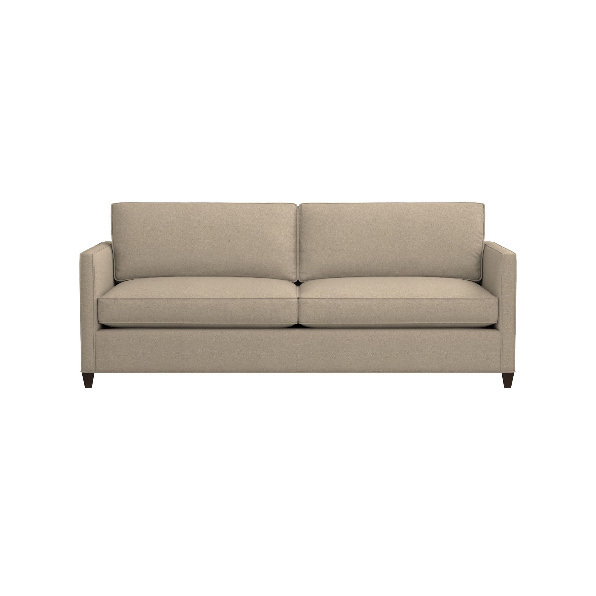 Dryden Queen Sleeper Sofa | Crate And Barrel throughout Crate And Barrel Sleeper Sofas (Image 9 of 15)