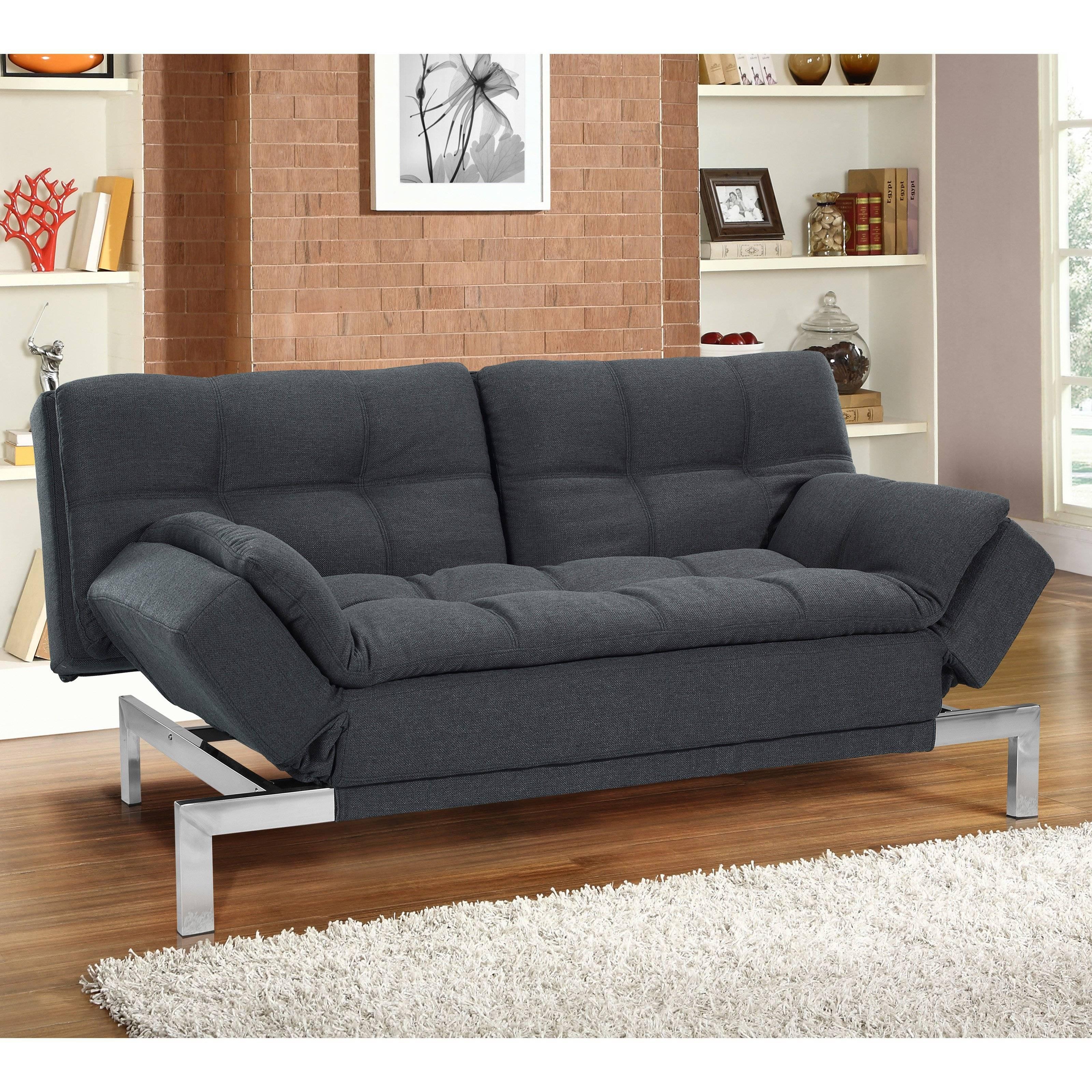 ▻ Sofa Bed : Thankful Euro Lounger Sofa Bed Homelegance Drake in Euro Lounger Sofa Beds (Image 15 of 15)