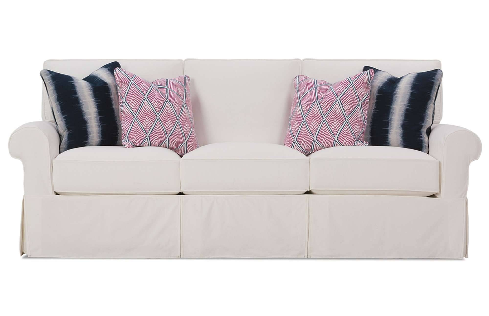 Easton Slipcover Sofarowe Furniture with Rowe Slipcovers (Image 2 of 15)