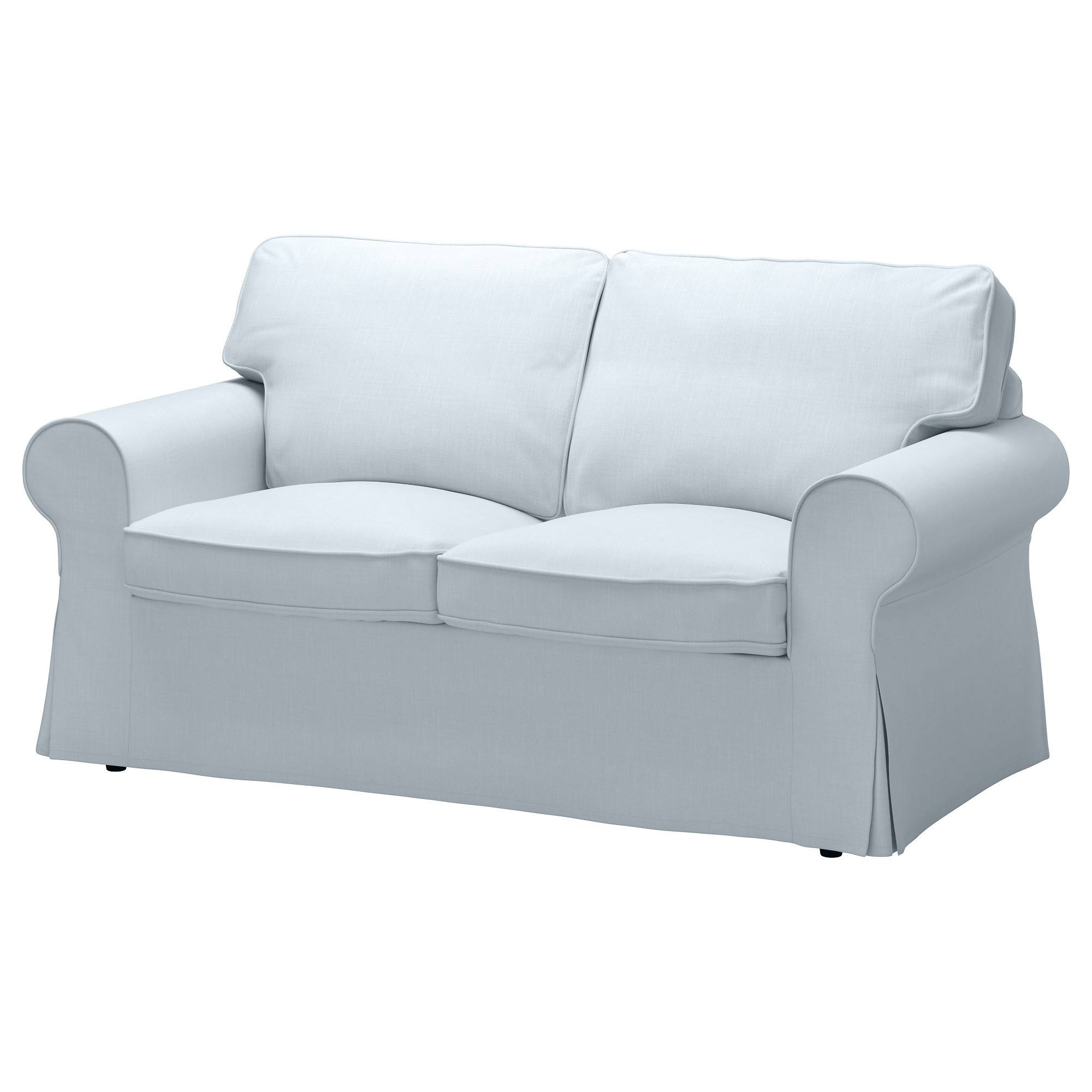Ektorp Loveseat Cover - Nordvalla Dark Beige - Ikea with Sofa And Loveseat Covers (Image 1 of 15)
