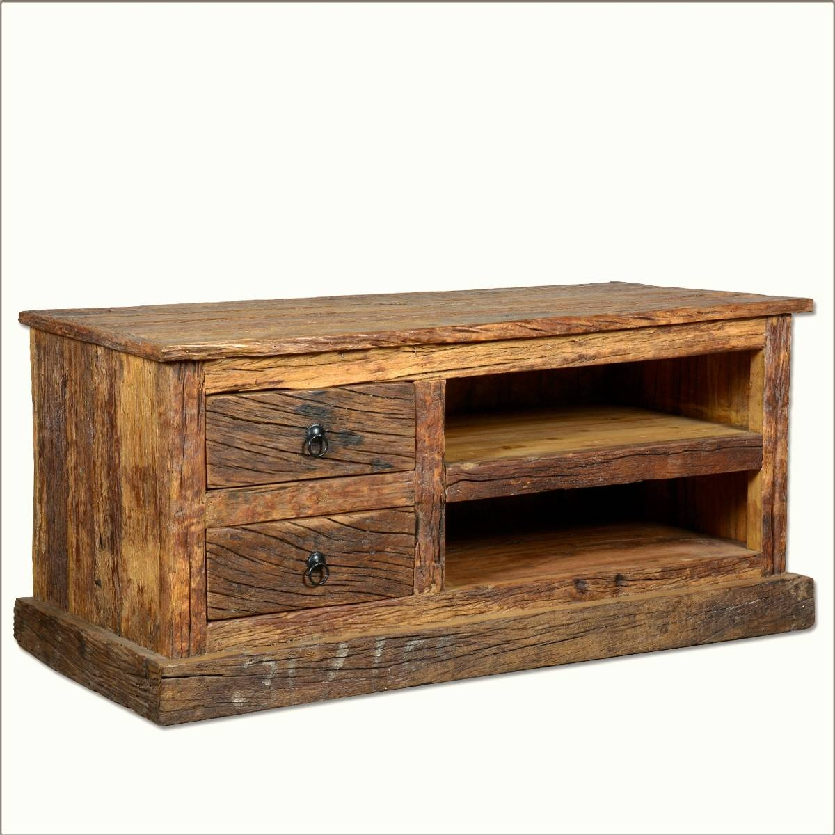 Rustic Sofa Tables For Sale: Top 15 Of Rustic Tv Stands For Sale