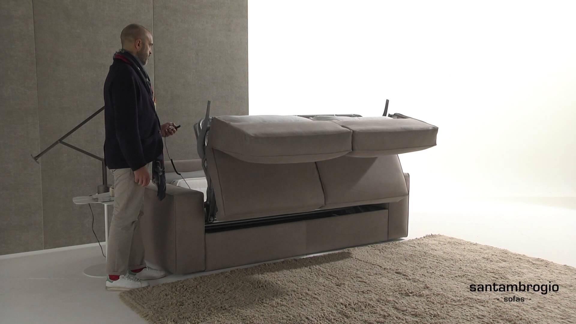 Eleven, Automatic Sofa Bed - Youtube with regard to Electric Sofa Beds (Image 5 of 15)