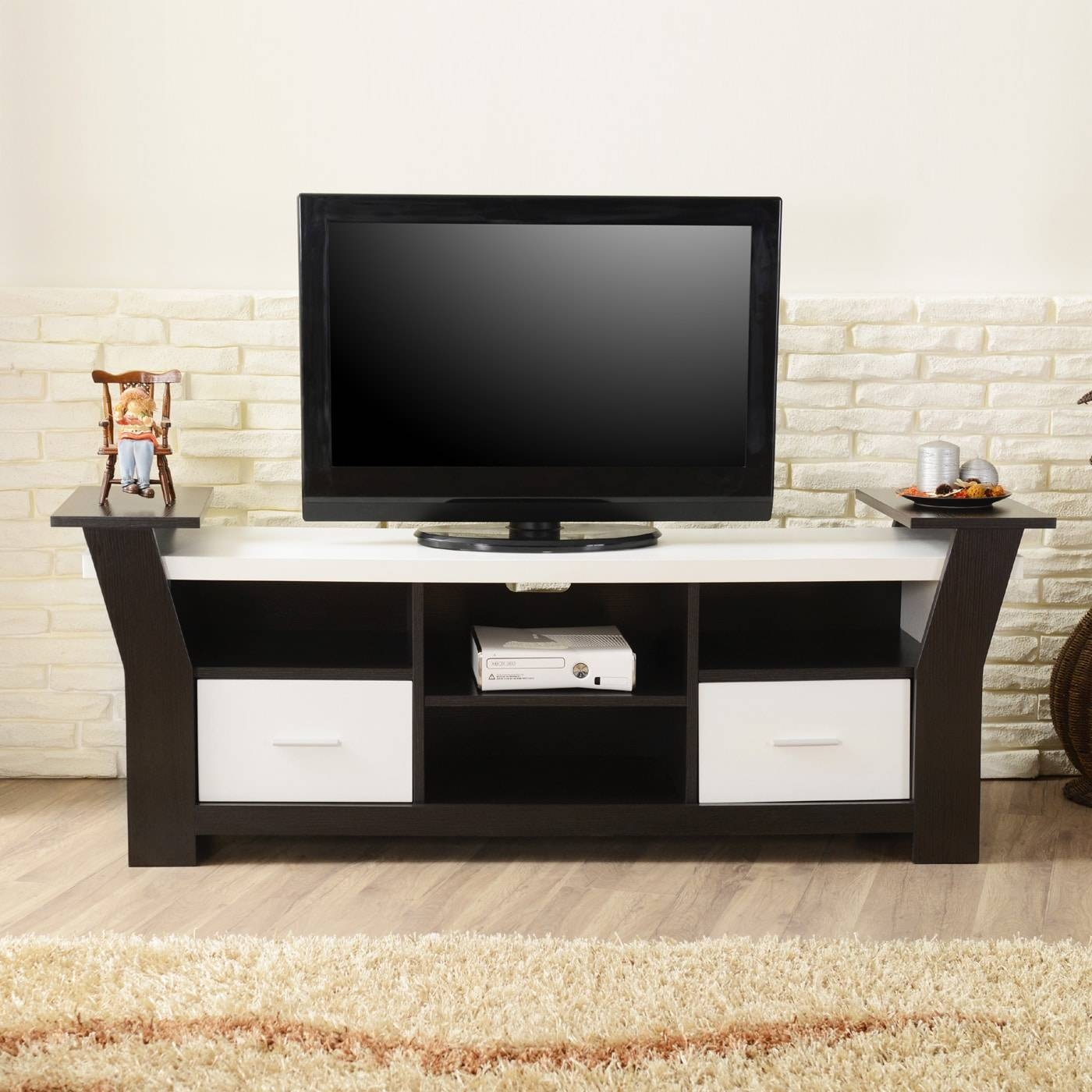 Enitial Lab Fci-13 Chester 66-In Multi-Storage Tv Stand | The Mine with Storage Tv Stands (Image 6 of 15)