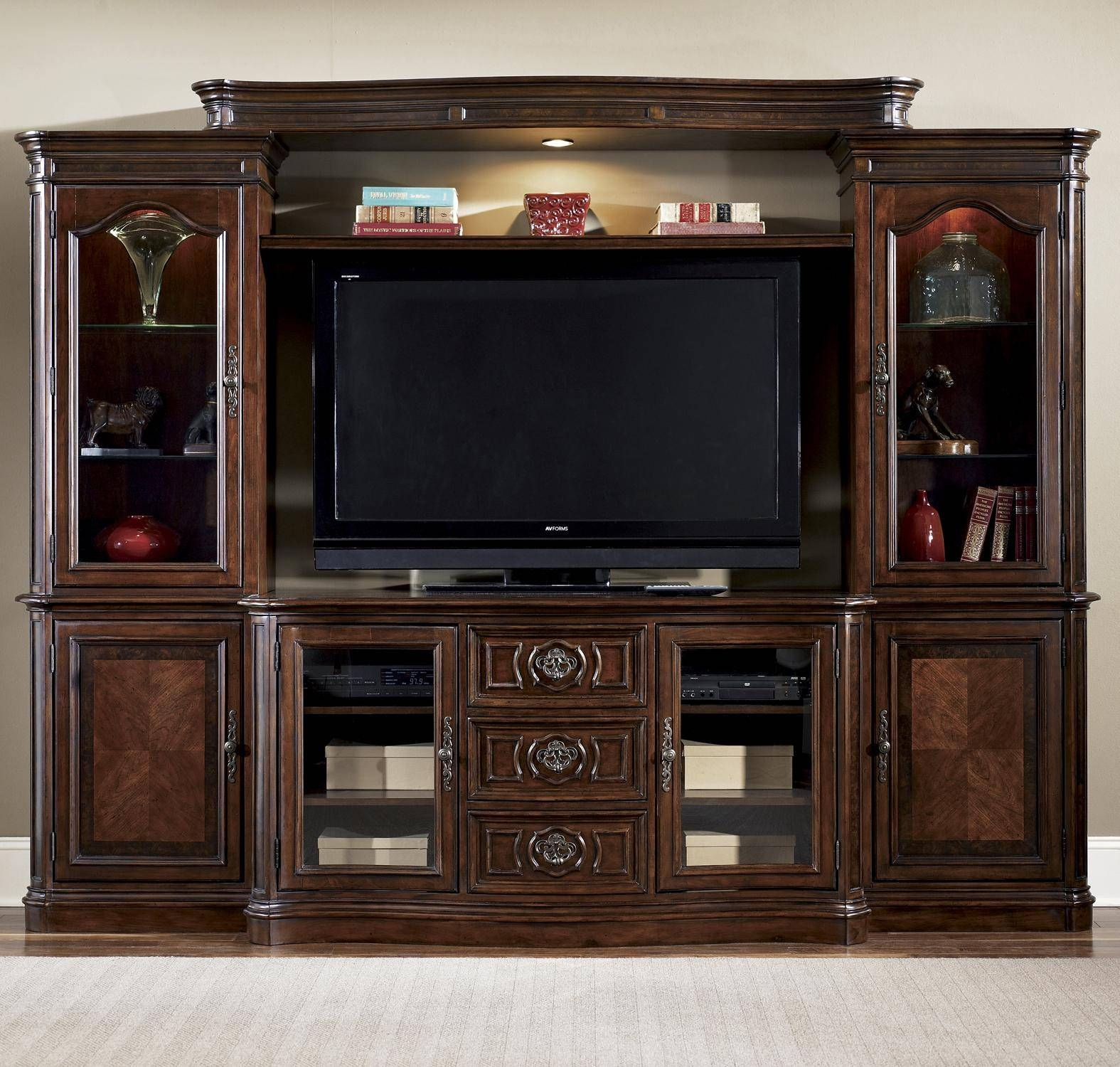Entertainment Center Wall Unitliberty Furniture | Wolf And inside Tv Entertainment Wall Units (Image 3 of 15)