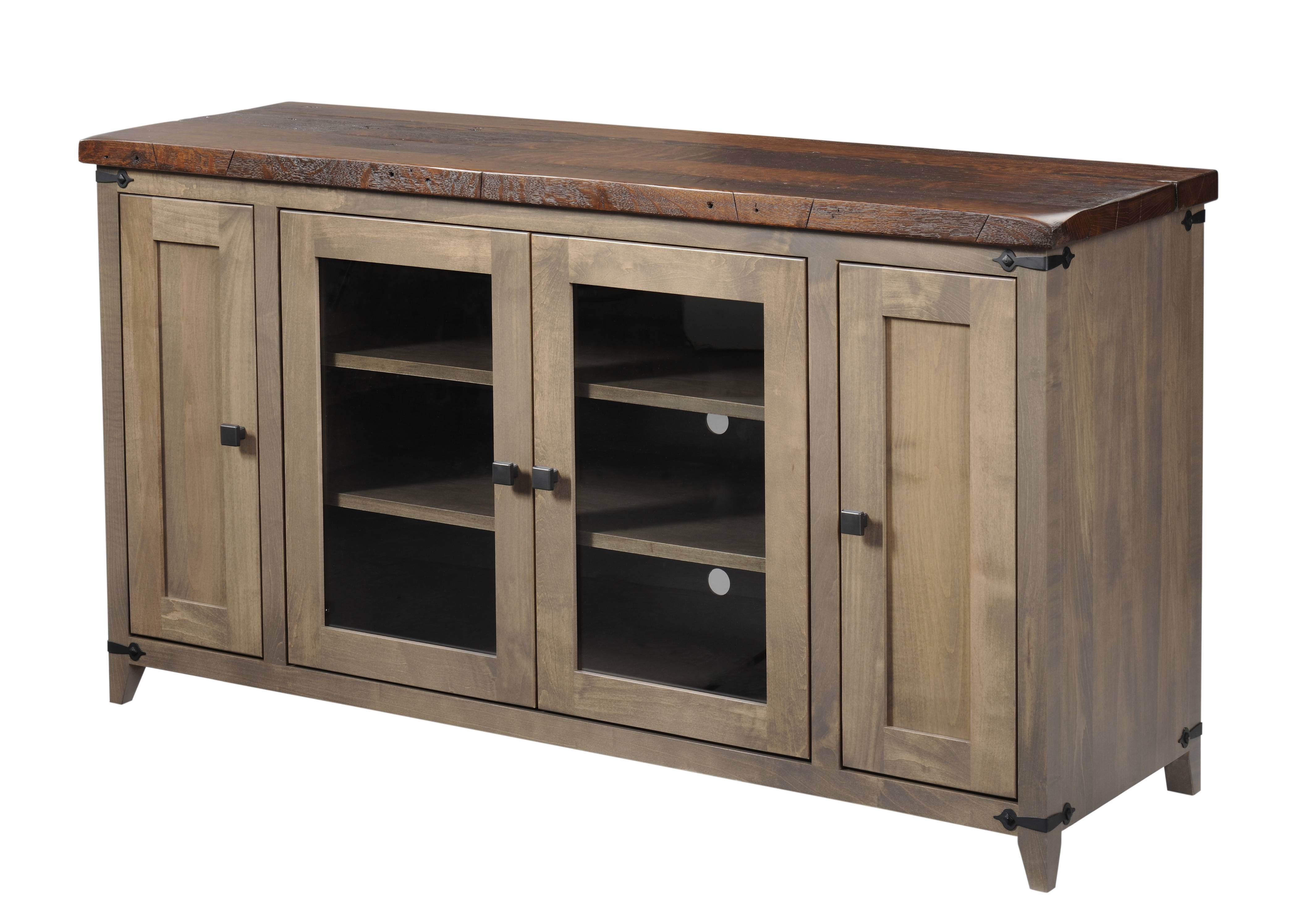 Entertainment Tv Stands, Stereo Cabinets – Portland – Oak Intended For Maple Tv Cabinets (View 12 of 15)