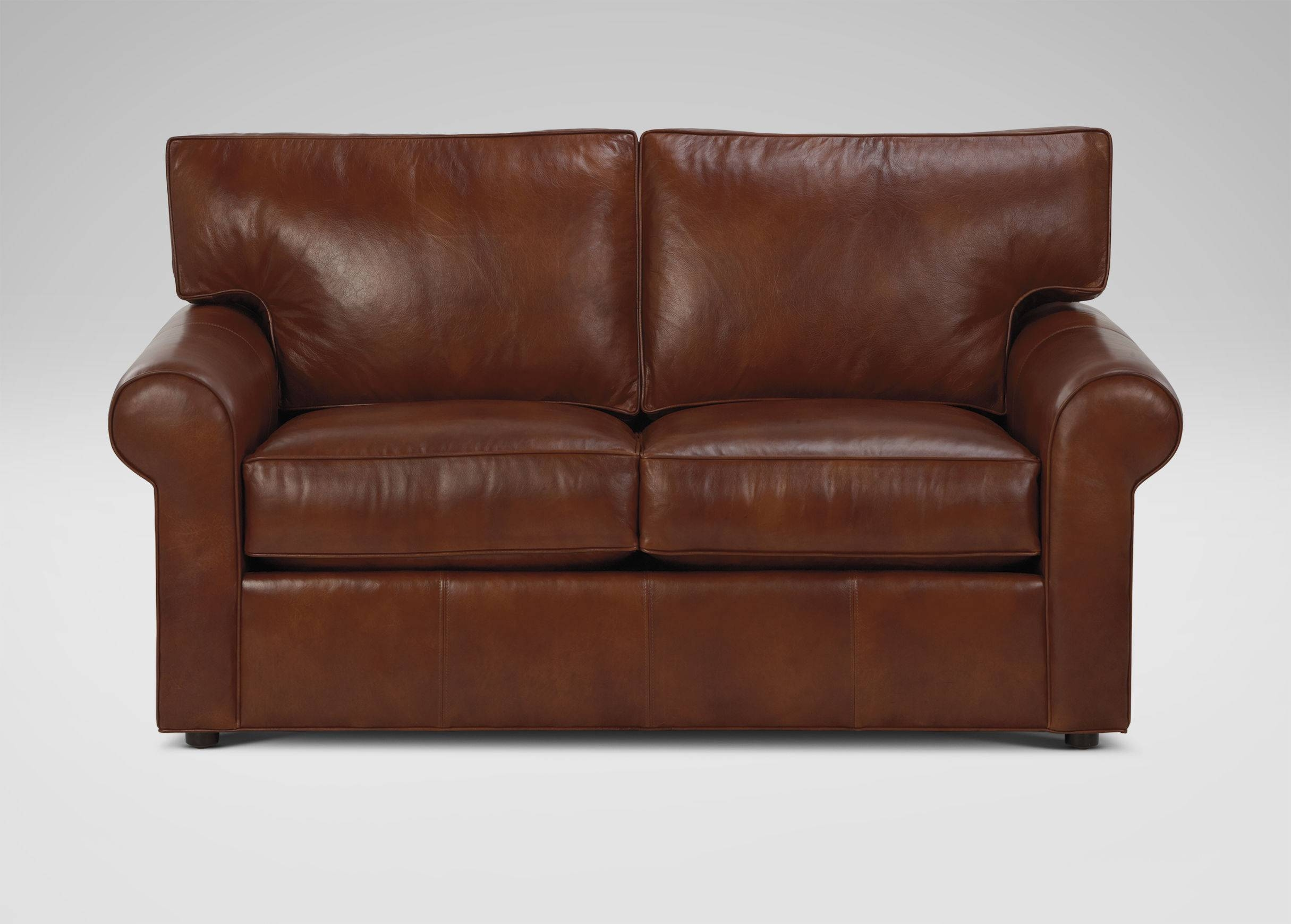 Ethan Allen Leather Sofa | Centerfieldbar within Ethan Allen Chesterfield Sofas (Image 4 of 15)
