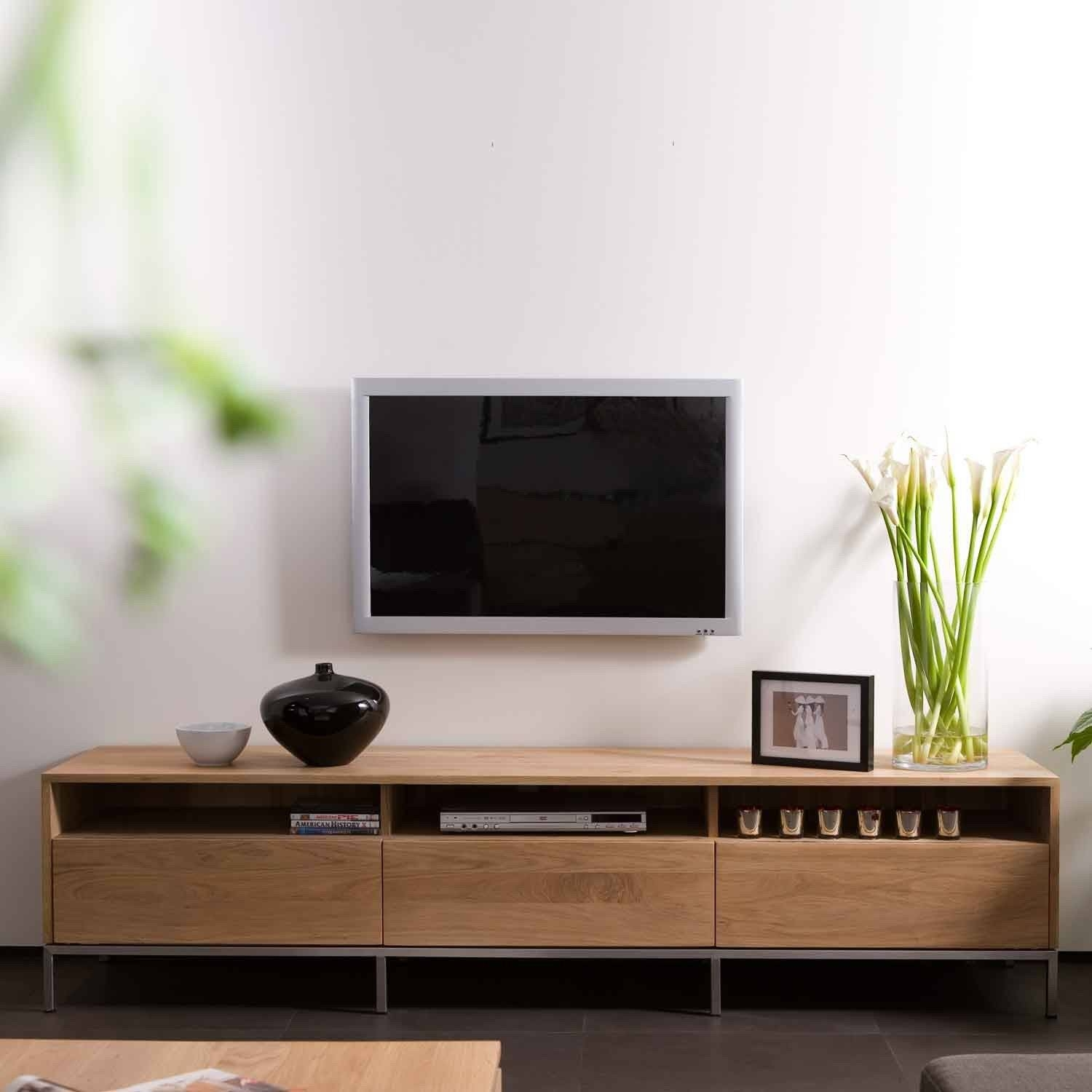 Showing Gallery Of Wooden Tv Stands And Cabinets View 10 Of 15  # Ethnicraft Meuble Tv