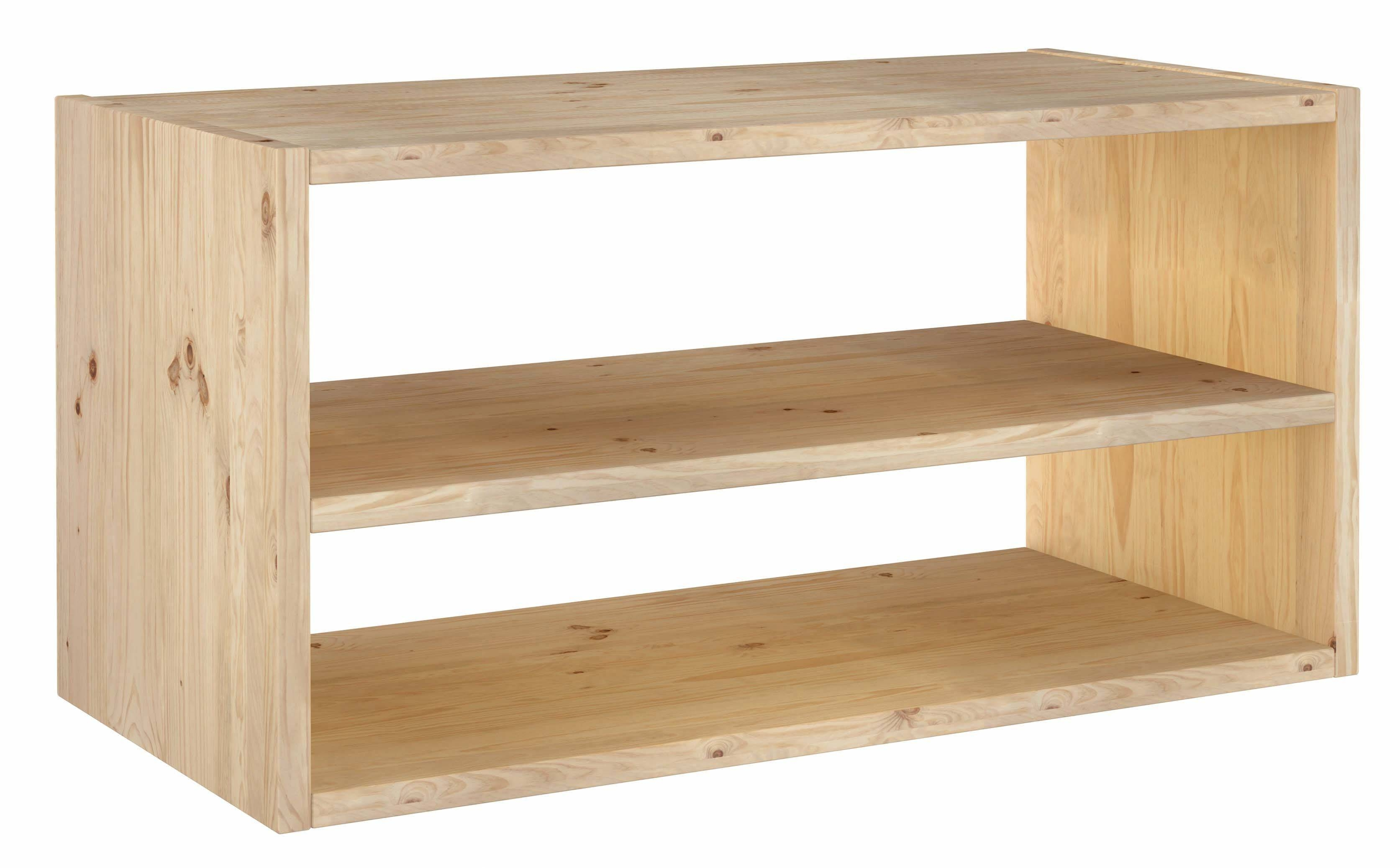 Europe & Nature : Shelf In Massive Wood Pine - Dinamic 2X1 - Tv Stand with regard to Pine Wood Tv Stands (Image 7 of 15)
