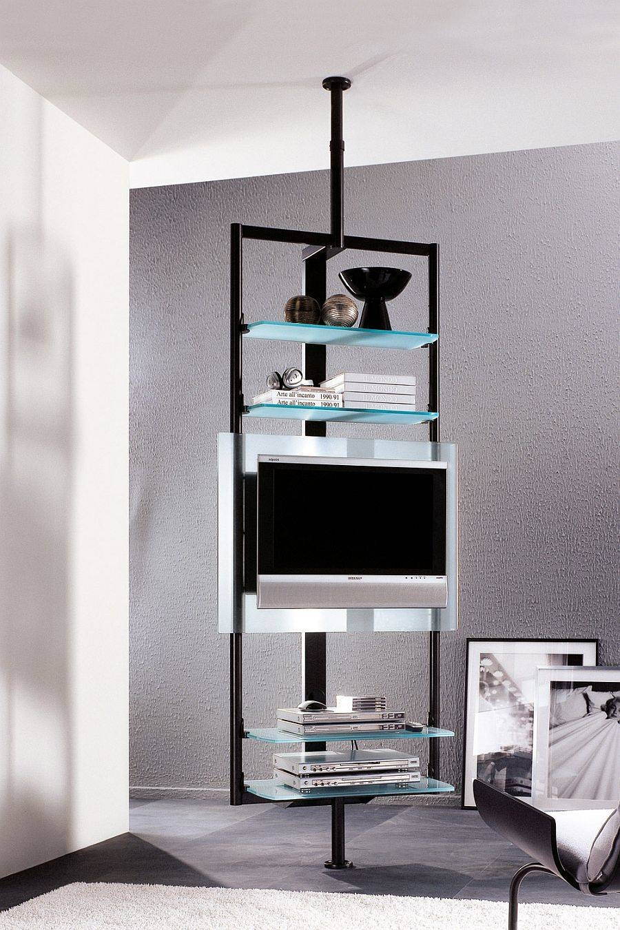 Excellent Tv Stand Small Space 20 On New Trends With Tv Stand With Regard To Tv Stands For Small Spaces (View 2 of 15)