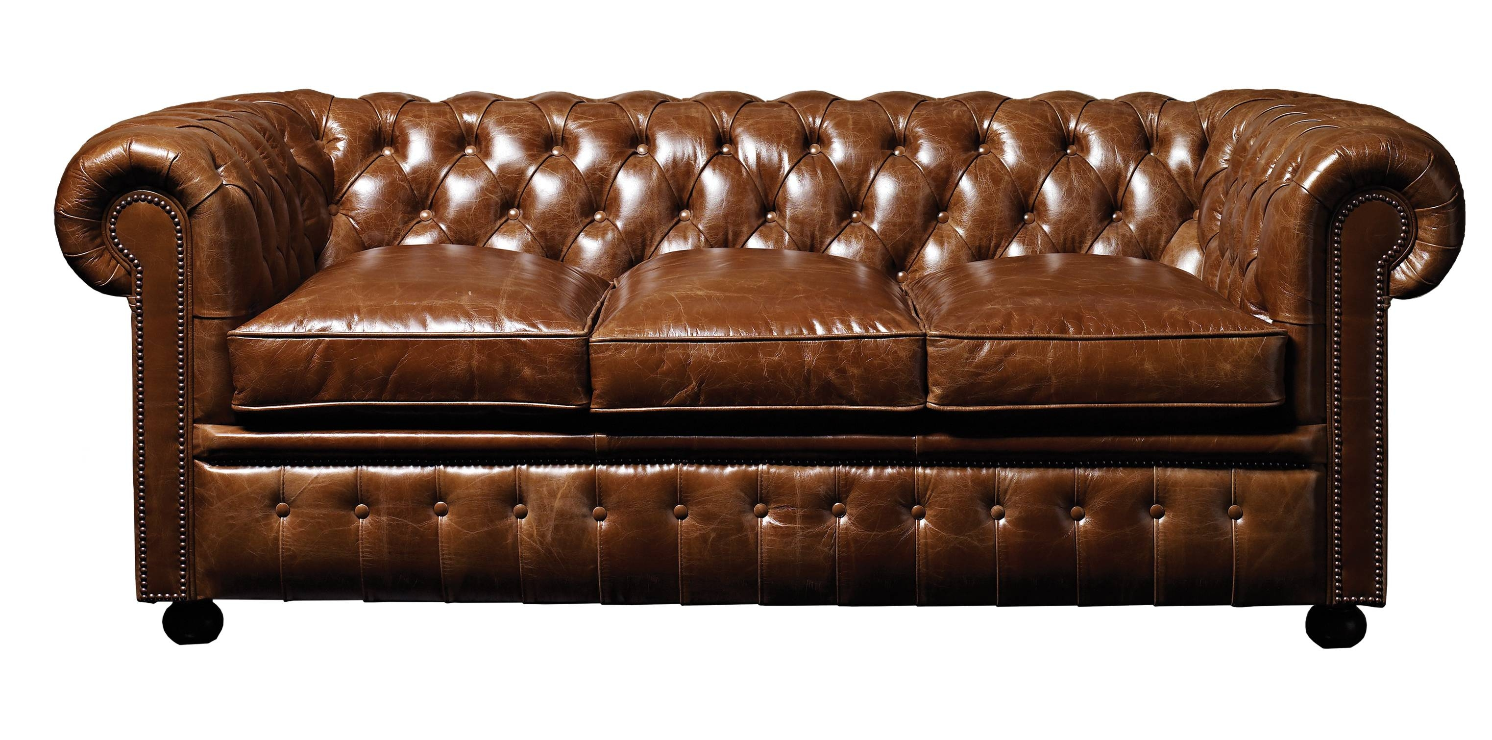 Exciting Design Modern Chesterfield Sofas. Home Furniture. Kopyok with regard to Brown Leather Tufted Sofas (Image 6 of 15)
