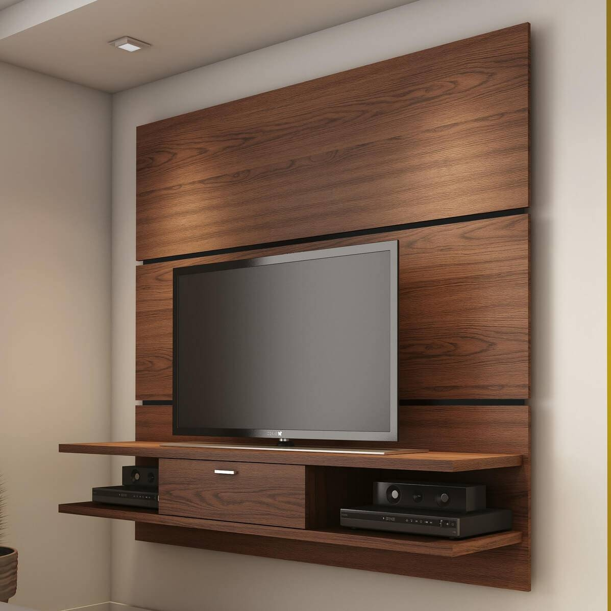 Exciting Tv Wall Unit Woodendecoma Design Jesse Tv Wall Units With Tv Wall Unit (View 5 of 15)