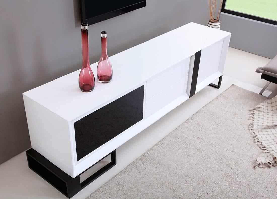 Extra Long Modern Tv Stand Bm-36 | Tv Stands in Extra Long Tv Stands (Image 4 of 15)