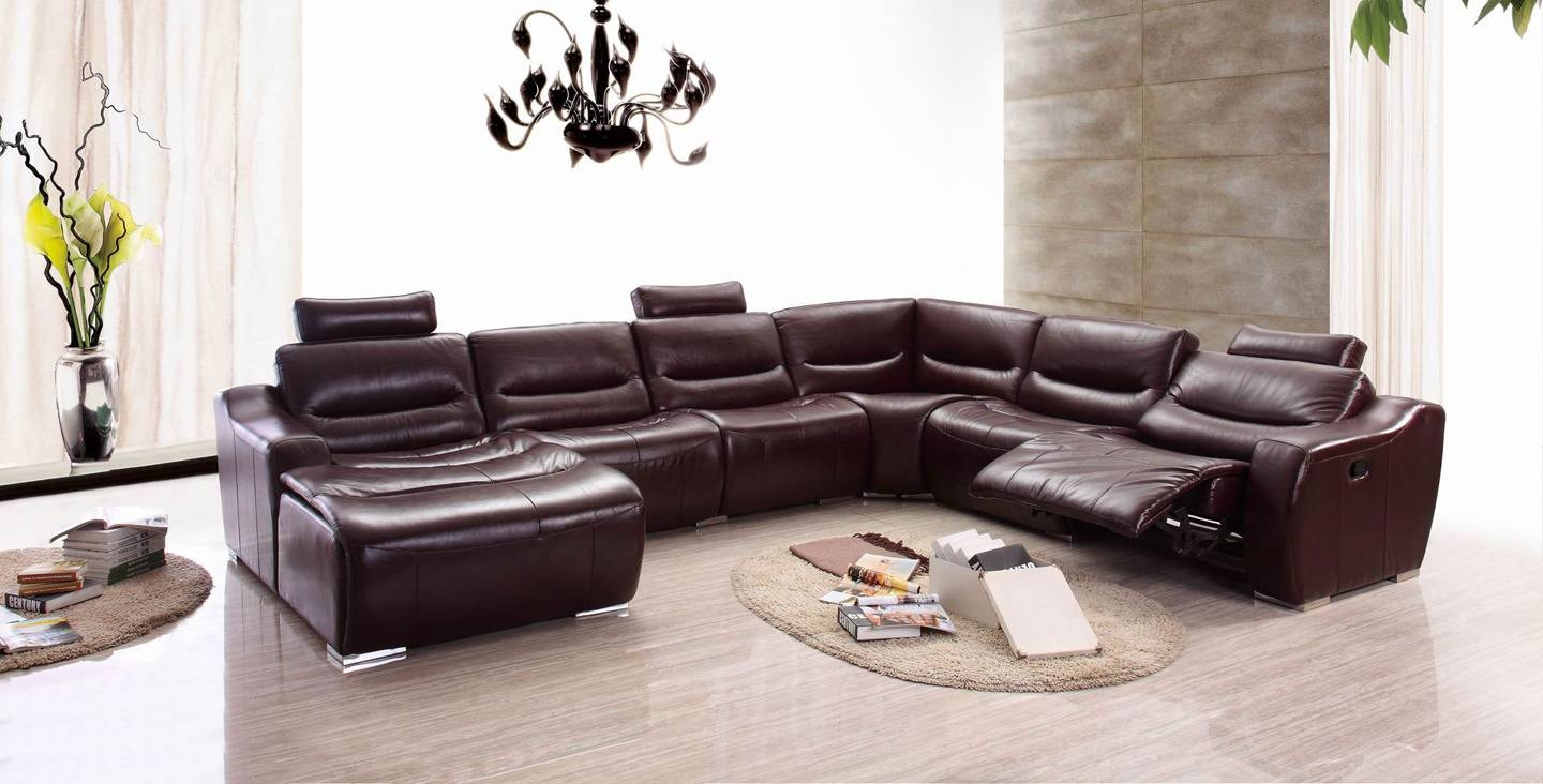 Extraordinary Sectional Sleeper Sofa With Recliners 19 With throughout Denver Sleeper Sofas (Image 5 of 15)