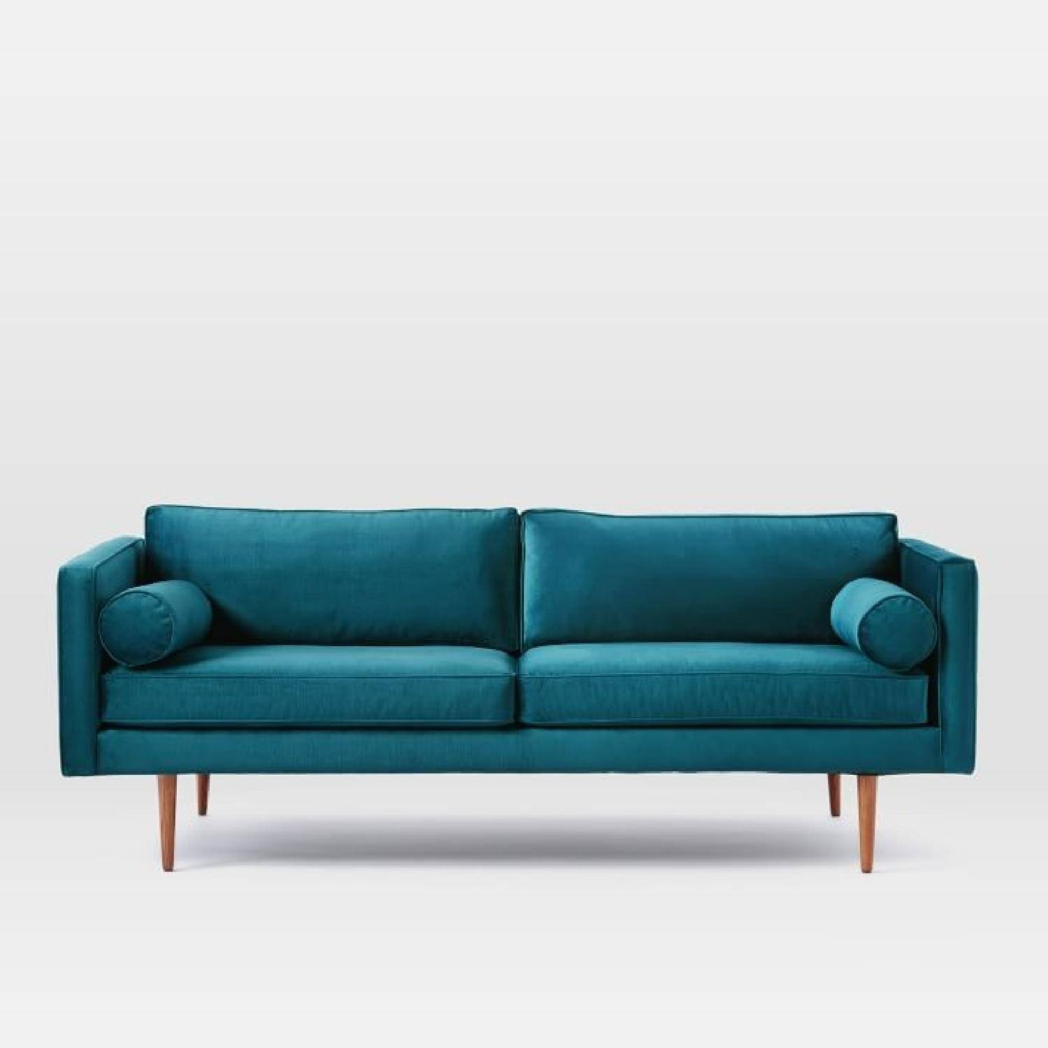 Fabulous Ideas Sofa Slipcovers At Kmart Mesmerize Tufted Denim throughout Sofa Beds With Support Boards (Image 3 of 15)