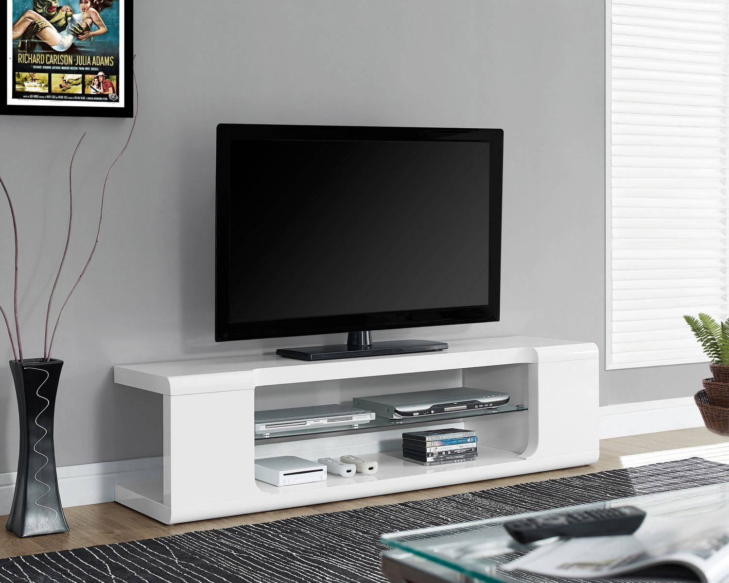 Fancy Cheap White Tv Stands 46 For Your Modern Decoration Design in Fancy Tv Stands (Image 4 of 15)