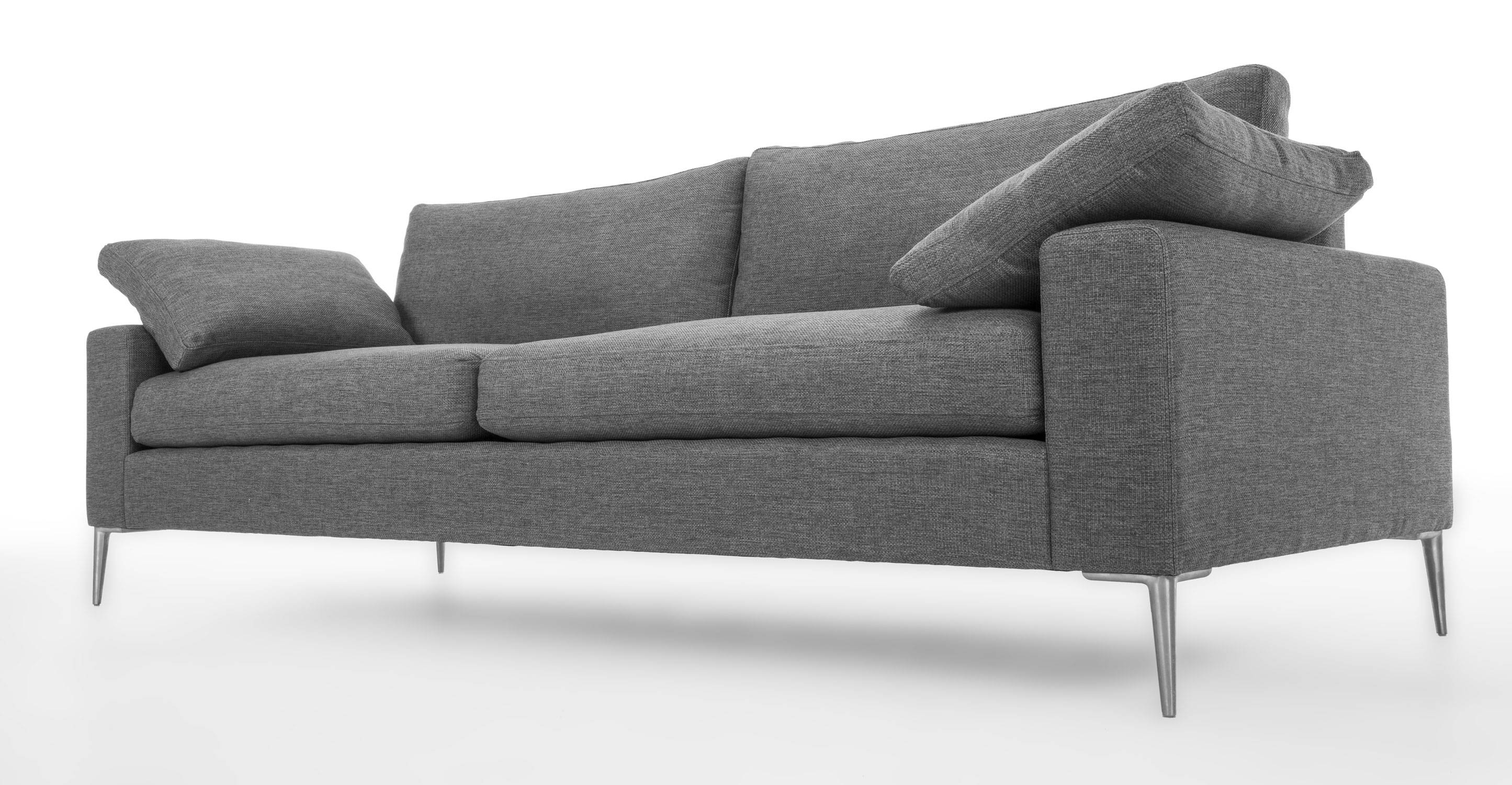 Fancy Modern Gray Sofa 69 With Additional Sofas And Couches Set regarding Gray Sofas (Image 9 of 15)