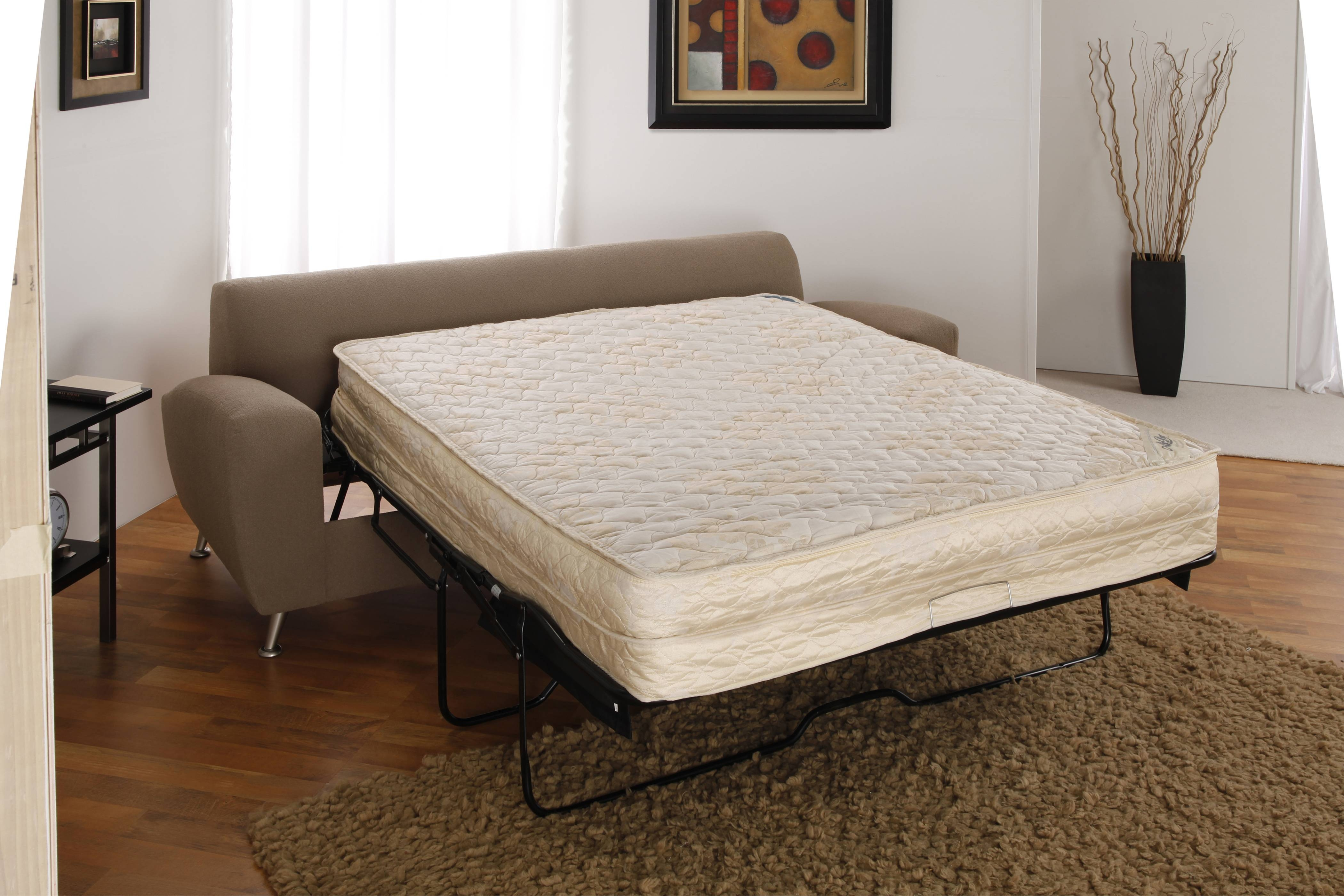 Fashion Bed Group Air Dream Sleeper Sofa Mattress With Regard To Sofa Beds With Mattress Support (View 4 of 15)