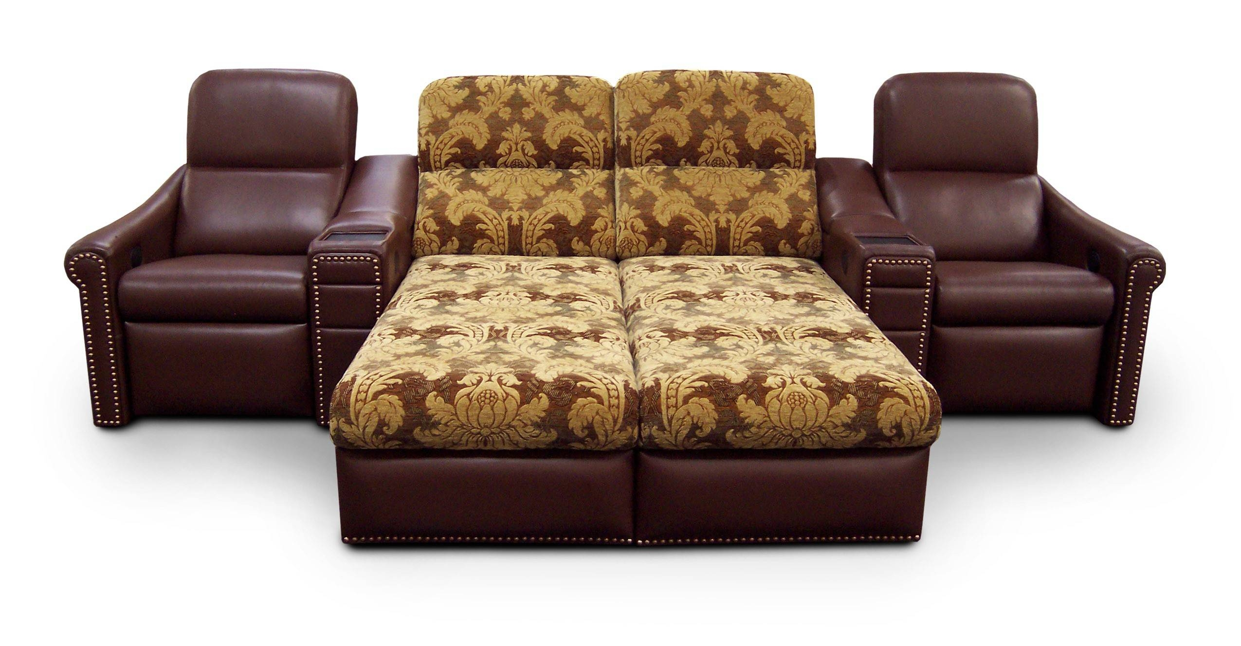 Faux Leather Sleeper Sofa Queen | Centerfieldbar for Faux Leather Sleeper Sofas (Image 5 of 15)