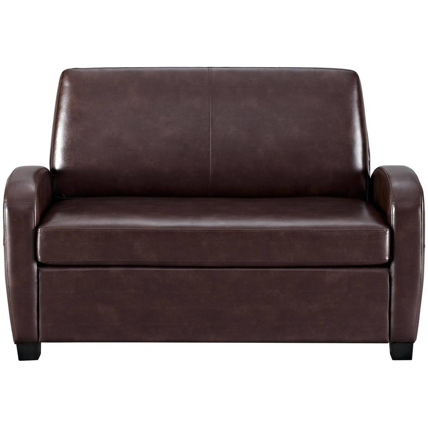 Faux Leather Sleeper Sofa Queen | Centerfieldbar throughout Faux Leather Sleeper Sofas (Image 7 of 15)