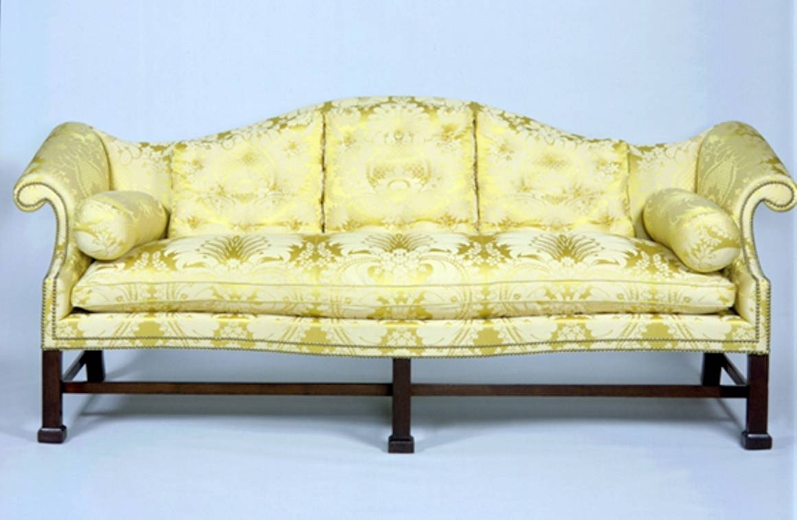 File:chippendale Mahogany Camel-Back Sofa Diplomatic Reception with Chippendale Camelback Sofas (Image 11 of 15)