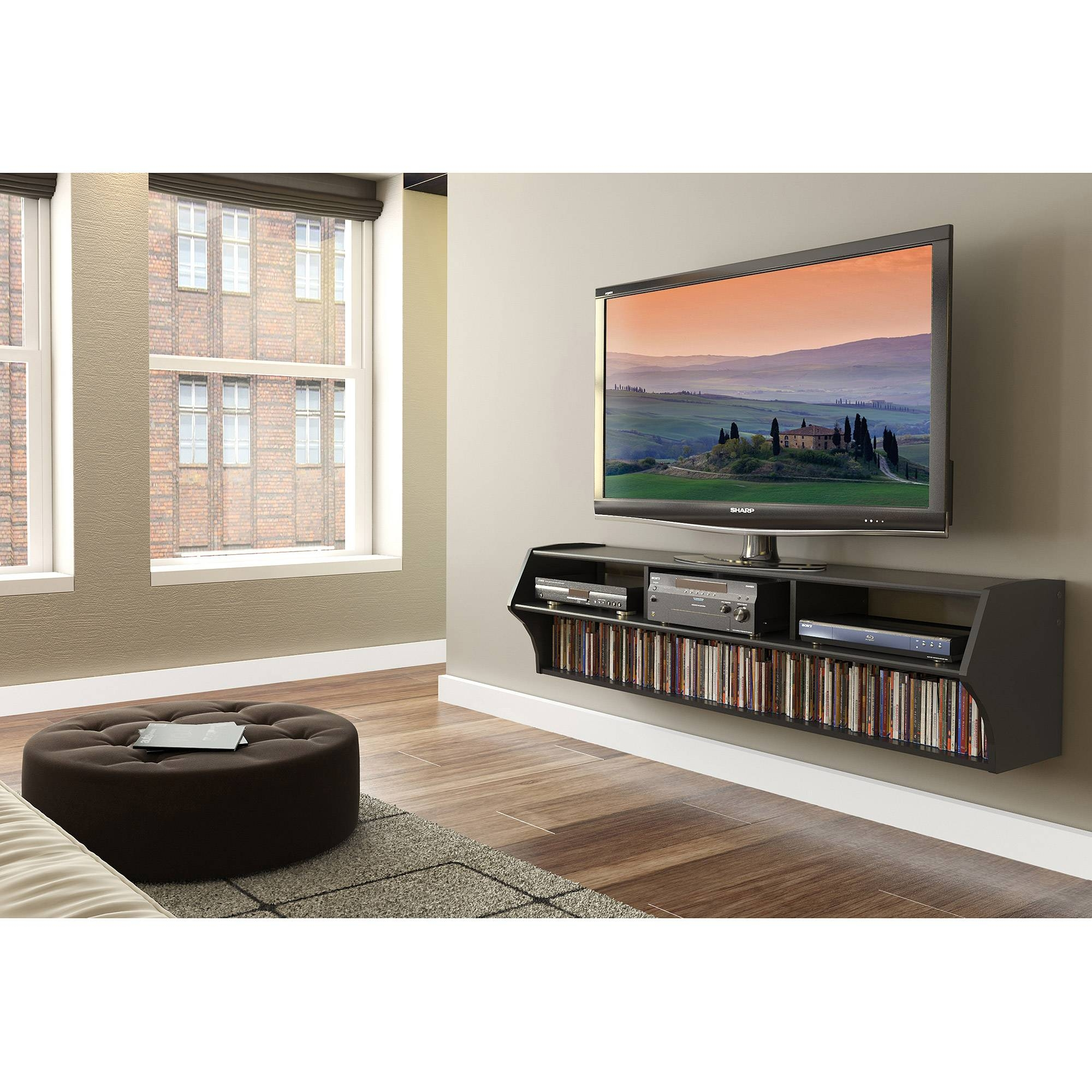 Fitueyes Universal Tabletop Tv Stand Base For 37 To 60 Inch Led within Modern Tv Stands For 60 Inch Tvs (Image 2 of 15)