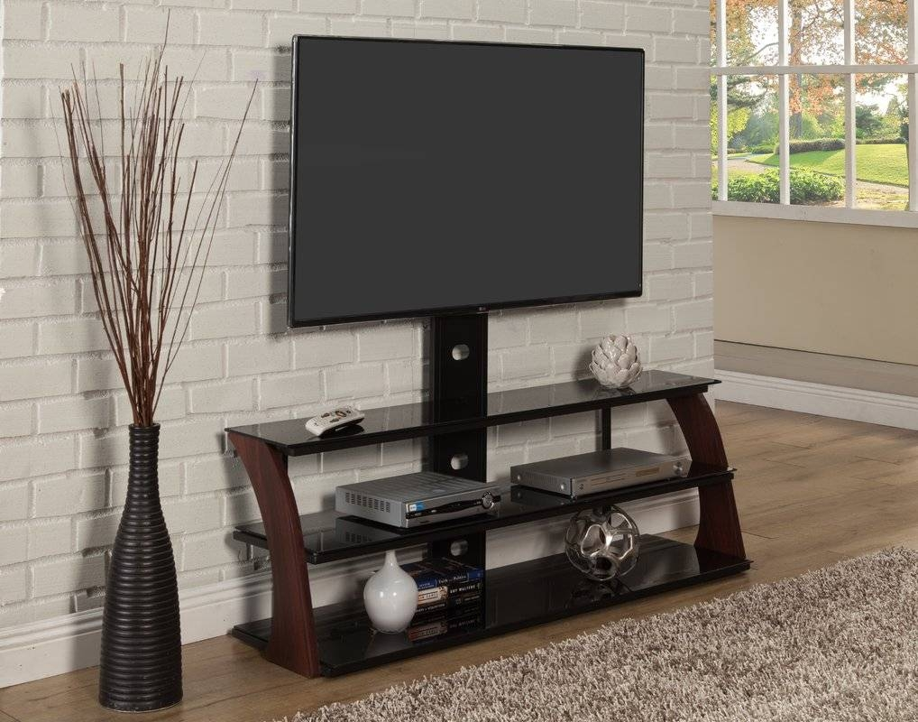 Flat Panel Mount Tv Stands You'll Love | Wayfair with Sleek Tv Stands (Image 4 of 15)