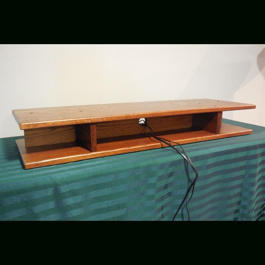 Flat Screen Oak Tv Riser For Sound Bar – The Oak Furniture Shop in Tv Riser Stand (Image 7 of 15)