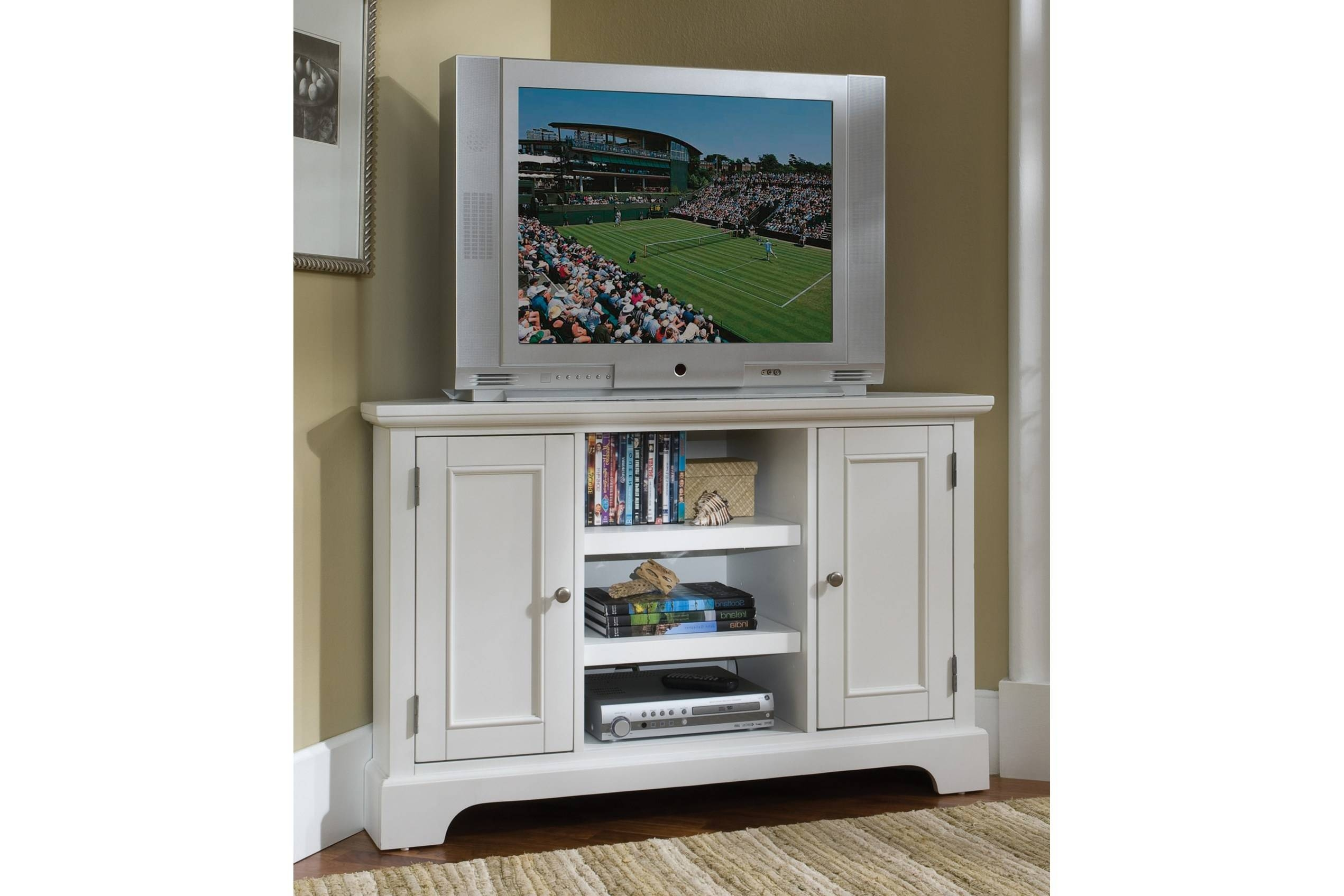 15 best ideas of corner tv cabinets for flat screens with for Flat screen tv console cabinet