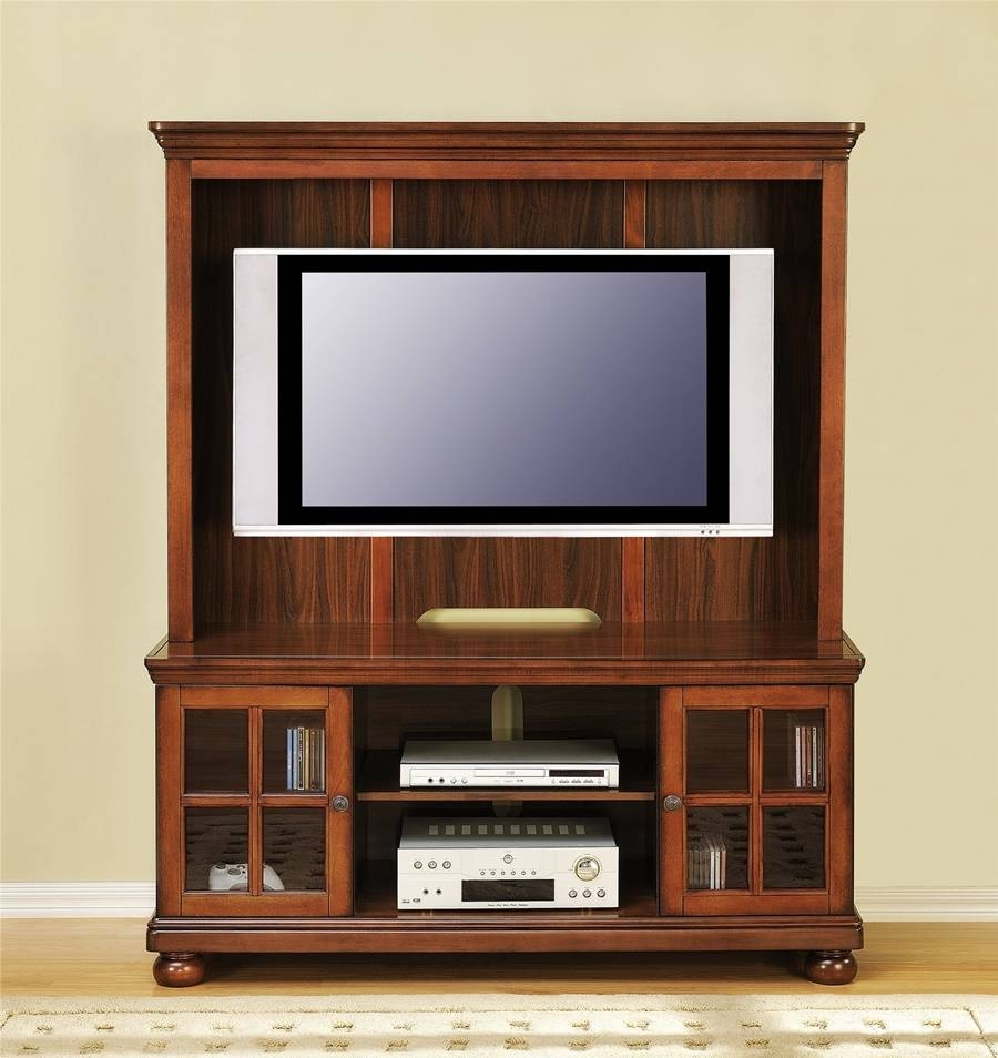 Flat Screen Tv Stands For Living Room | Home Decorations Ideas inside Oak Tv Stands for Flat Screens (Image 3 of 15)