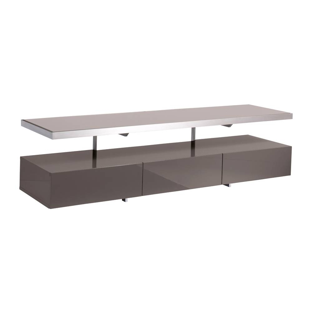 Floating Shelf Tv Unit Stone – Dwell In Dwell Tv Stands (View 3 of 15)