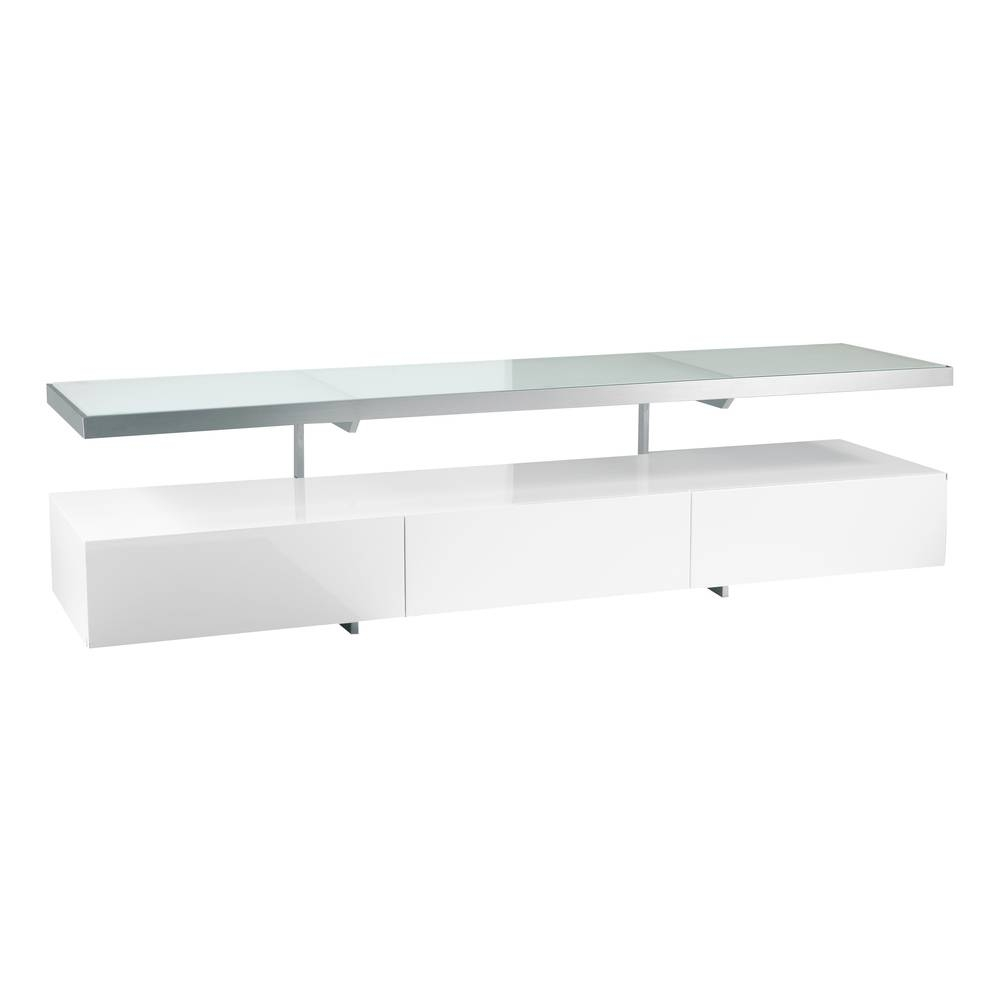 Floating Shelf Tv Unit White – Dwell Throughout Dwell Tv Stands (View 6 of 15)