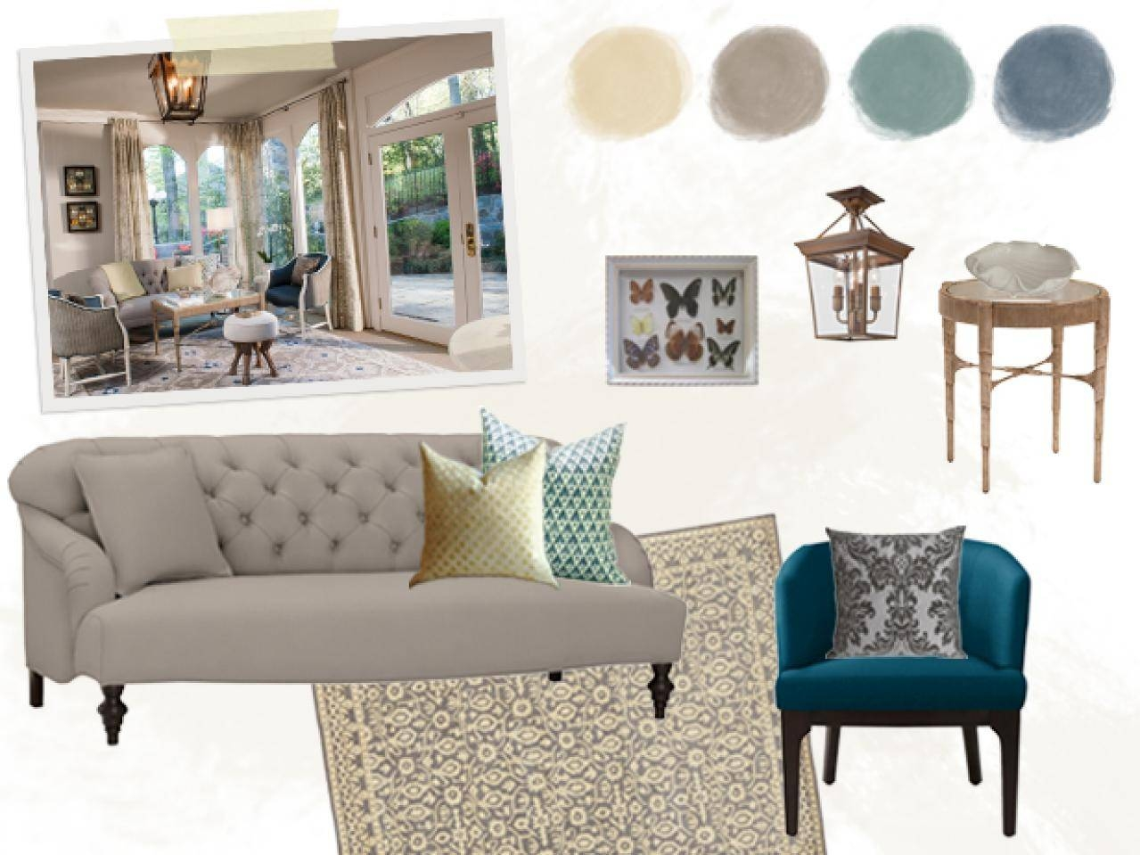 Floor Planning A Small Living Room | Hgtv inside Small Lounge Sofas (Image 6 of 15)