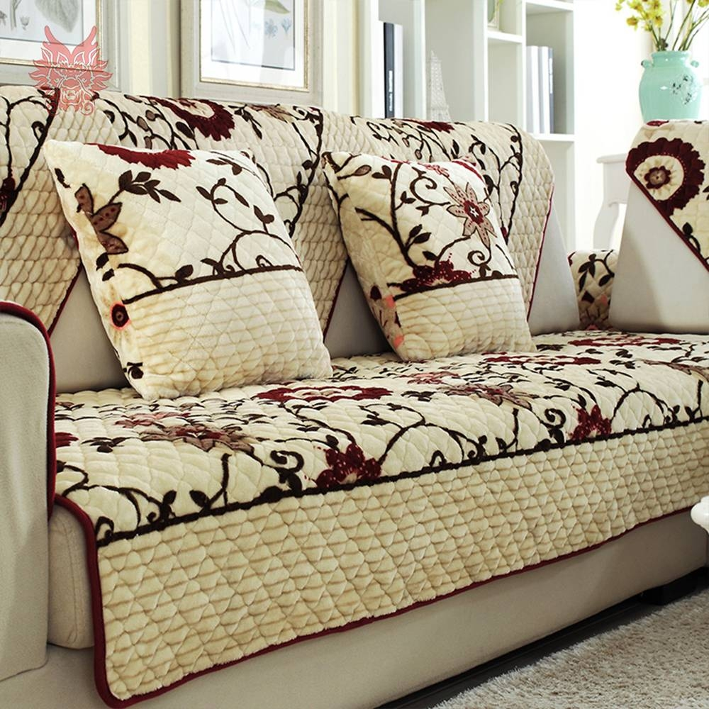 Floral Slipcovers Promotion-Shop For Promotional Floral Slipcovers intended for Floral Slipcovers (Image 6 of 15)