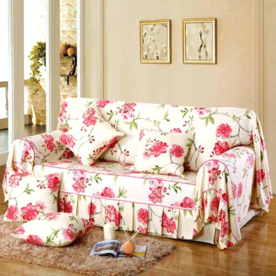 Floral Sofa Covers Uk Print Couch Slipcovers #19705 Gallery inside Floral Slipcovers (Image 7 of 15)