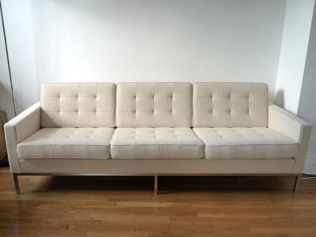 Florence Knoll Sofa with Florence Knoll Sofas (Image 13 of 15)