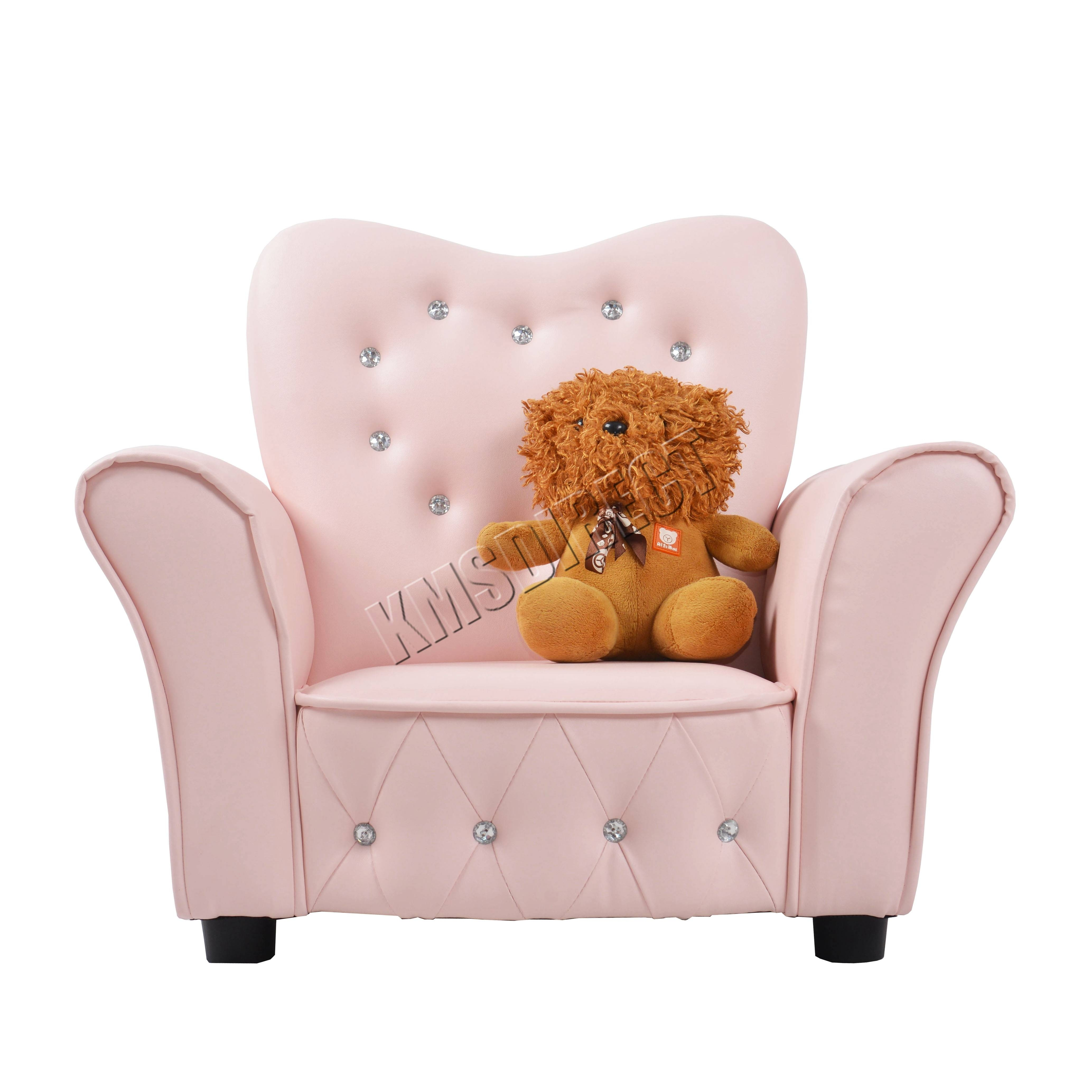 Foxhunter Kids Armchair Games Chair Boys Girls Sofa Children Seat Intended For Childrens Sofa Chairs (View 6 of 15)