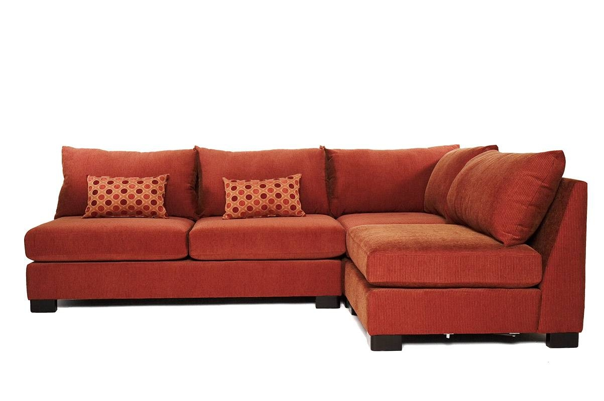 15 The Best Small Scale Leather Sectional Sofas