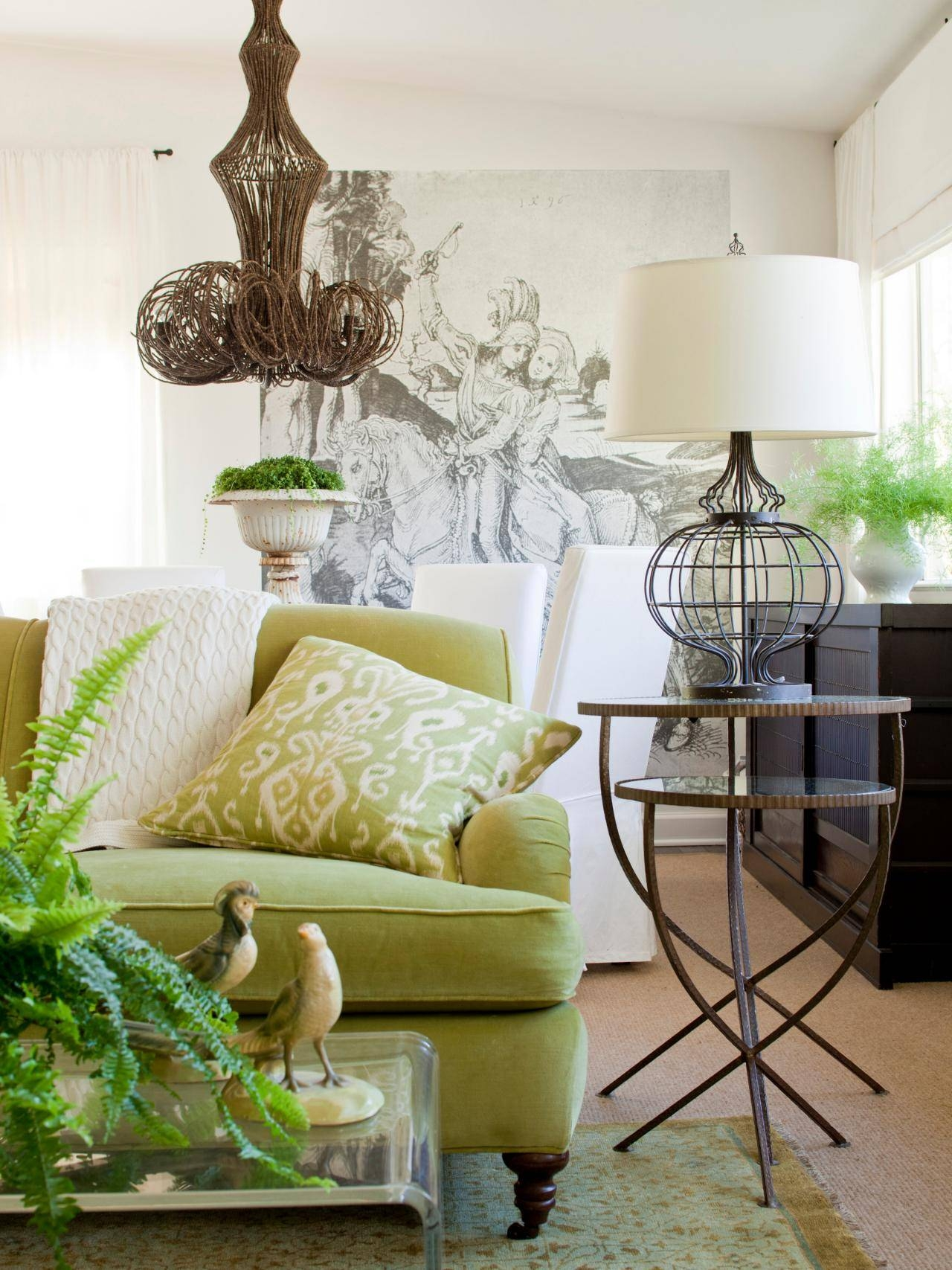 Furniture: Amusing Mint Green Floral Sofa Design Sage Green Sofa intended for Mint Green Sofas (Image 7 of 15)