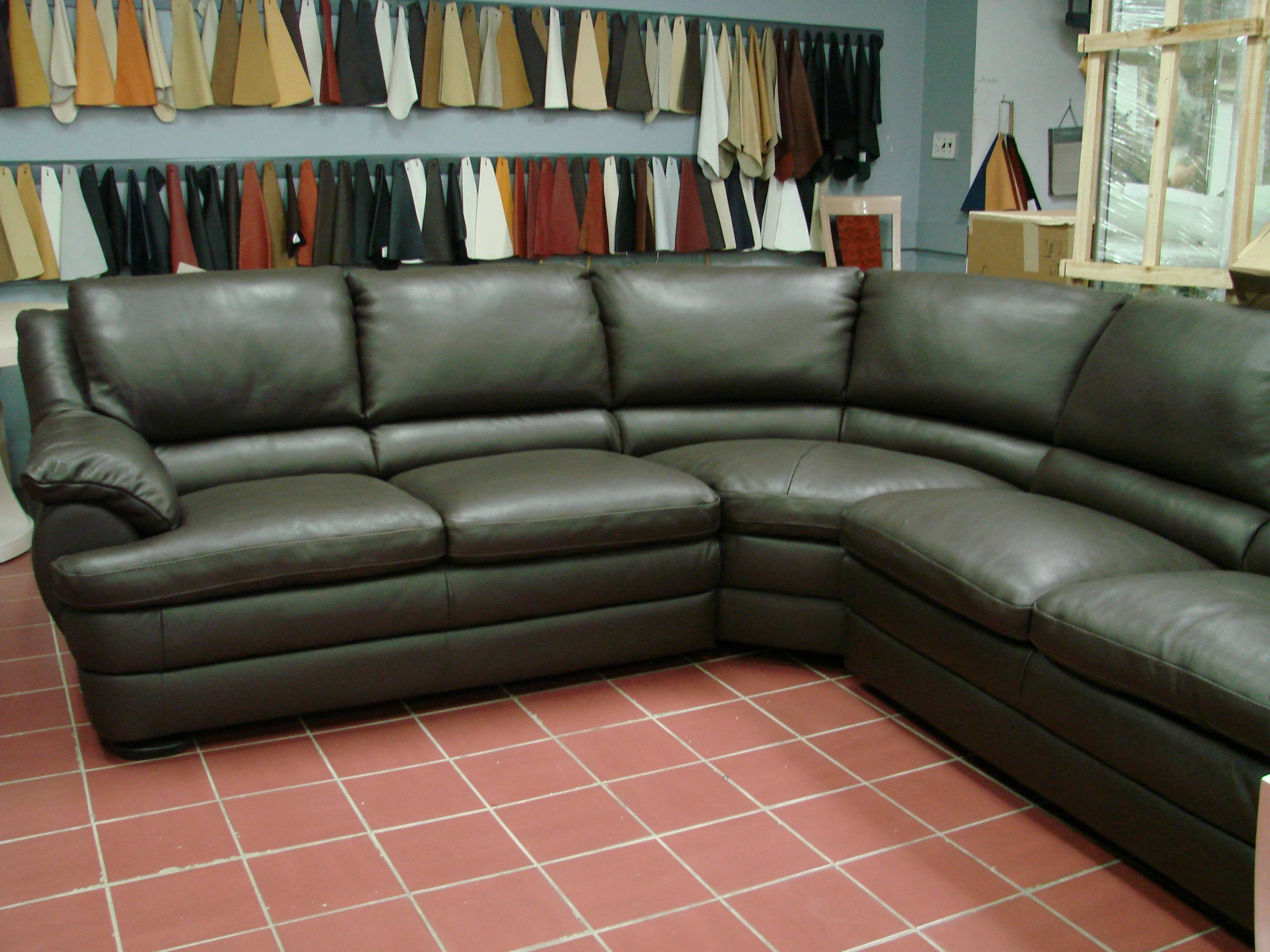 Furniture: Best Gift For Mother Day With Cool Italsofa — Nadabike in Natuzzi Microfiber Sectional Sofas (Image 2 of 15)